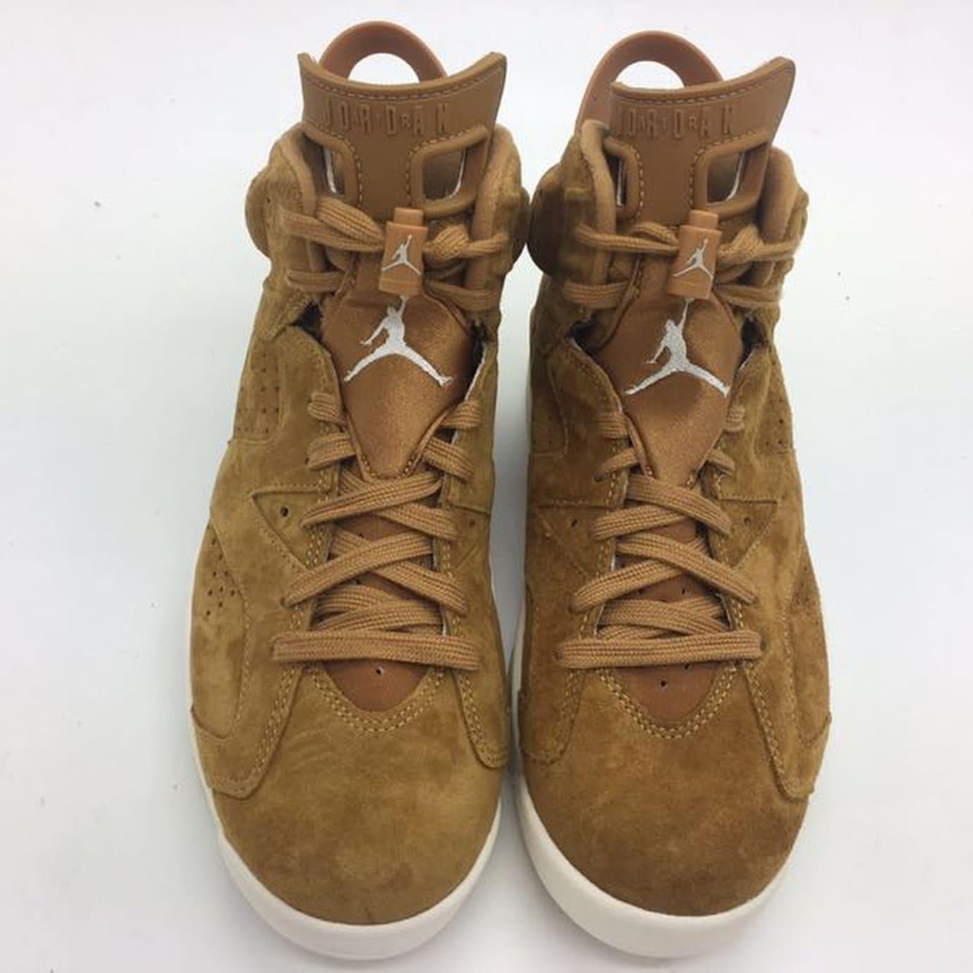 a3ca60a5900f15 Air Jordan 6 Golden Harvest Wheat Release Date 384664-705