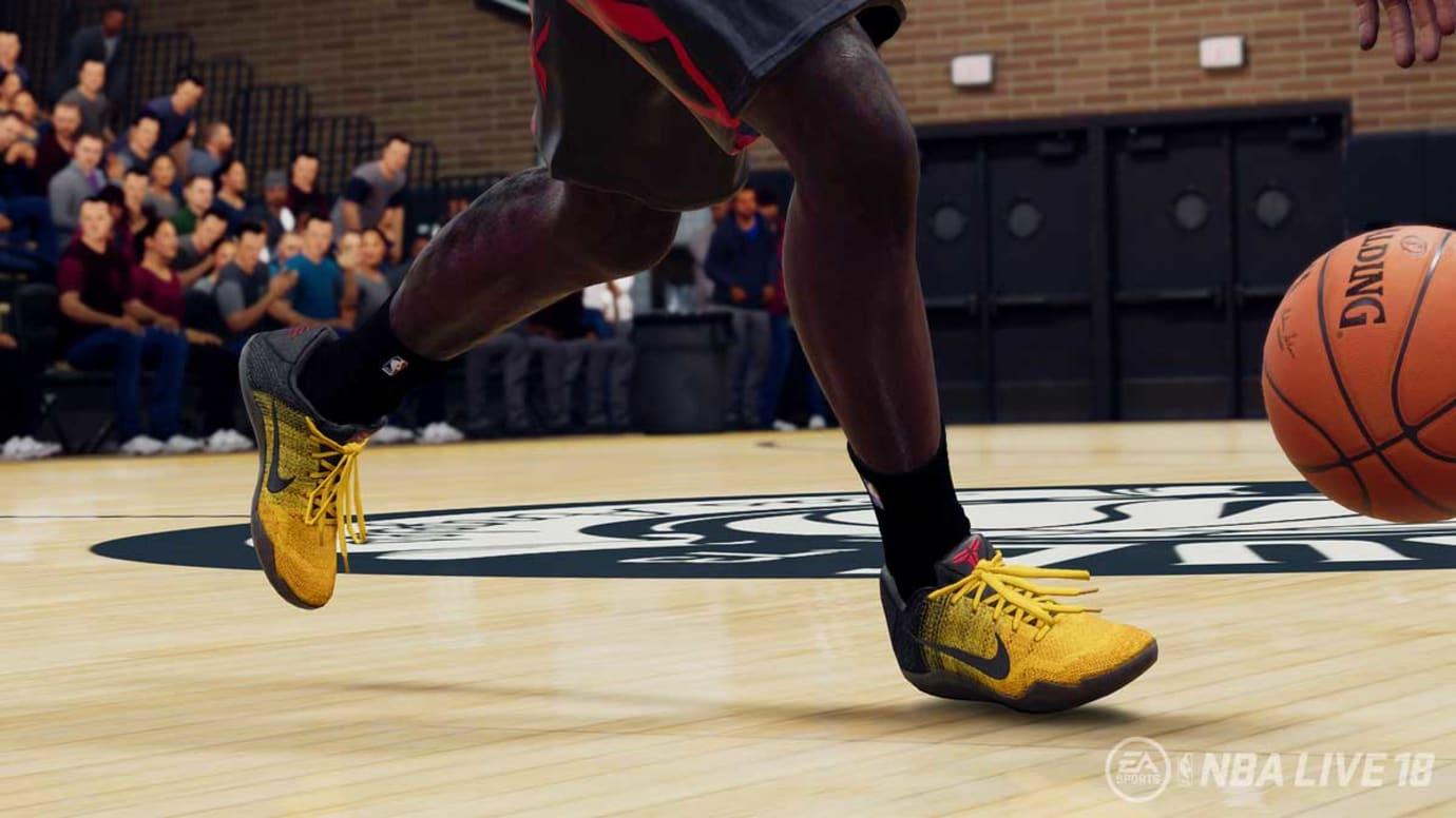 Nike Kobe 11 Bruce Lee NBA Live 18