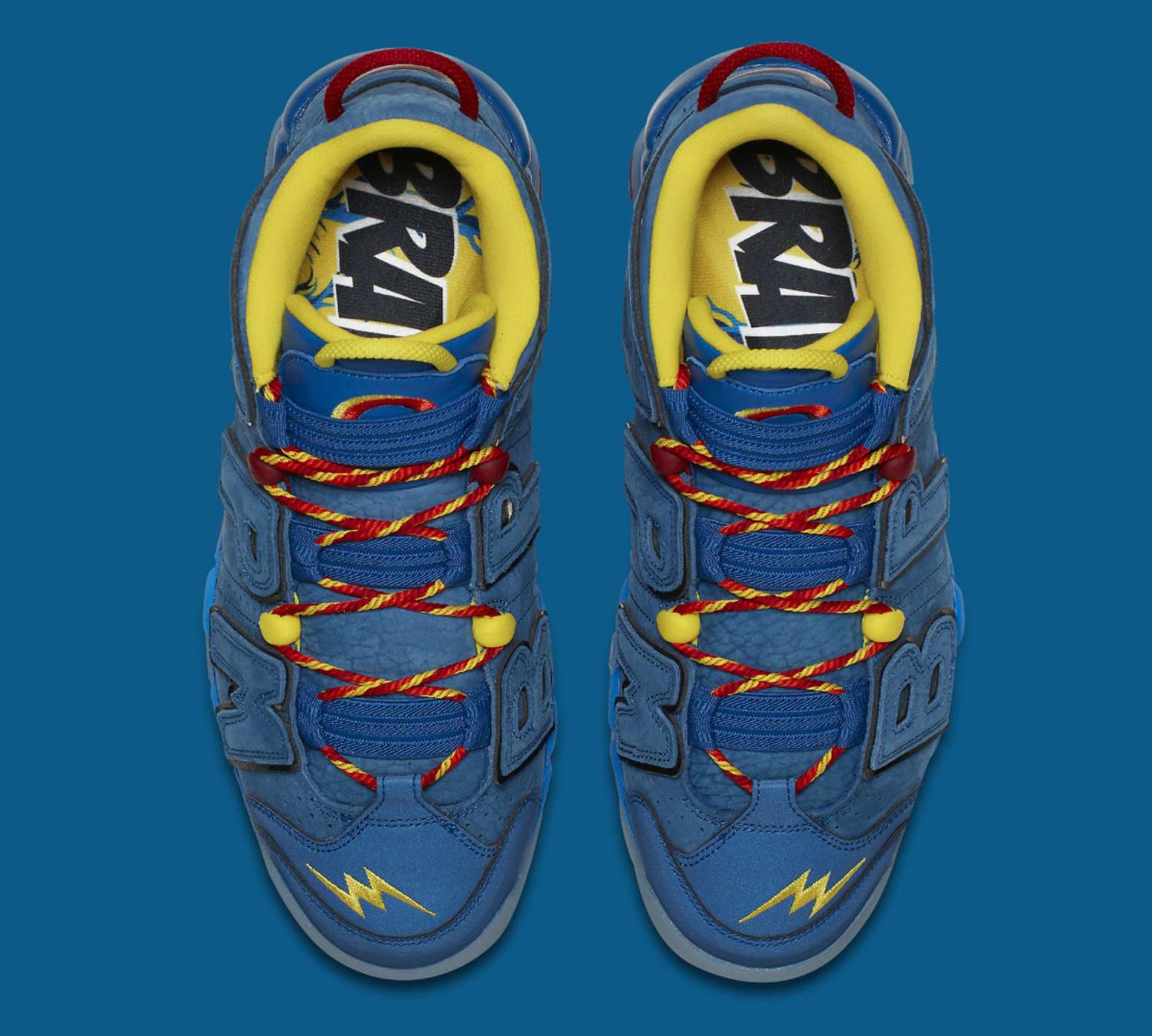 Nike Air More Uptempo Doernbecher Release Date AH6949-446 Top
