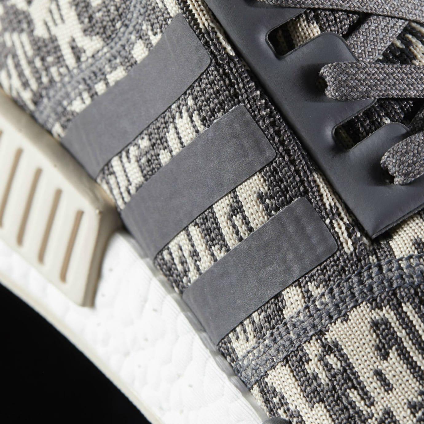 Adidas NMD Grey Linen Camo Release Date Stripes