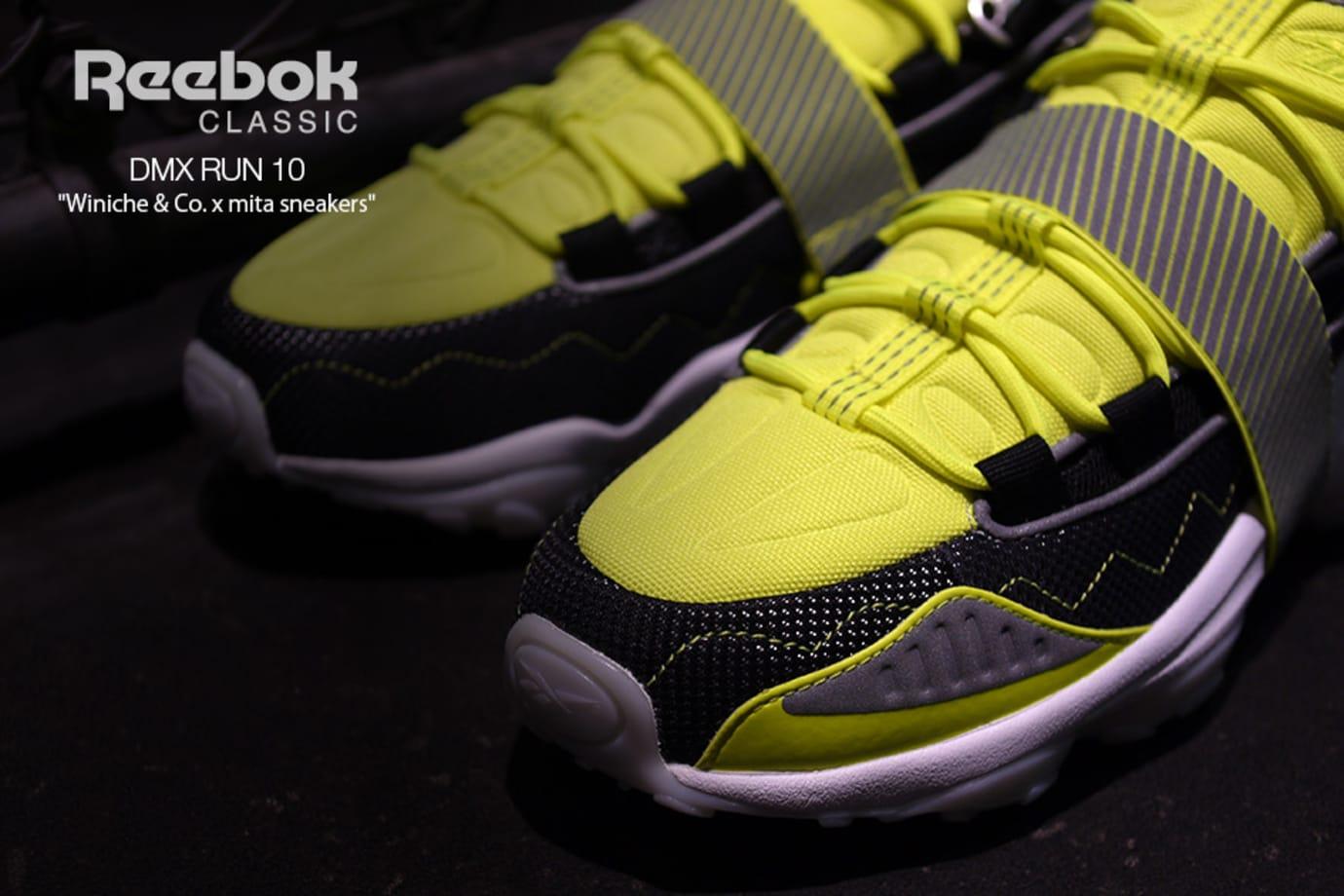 Winiche & Co x Mita Sneakers x Reebok DMX Run 10 (Toe)