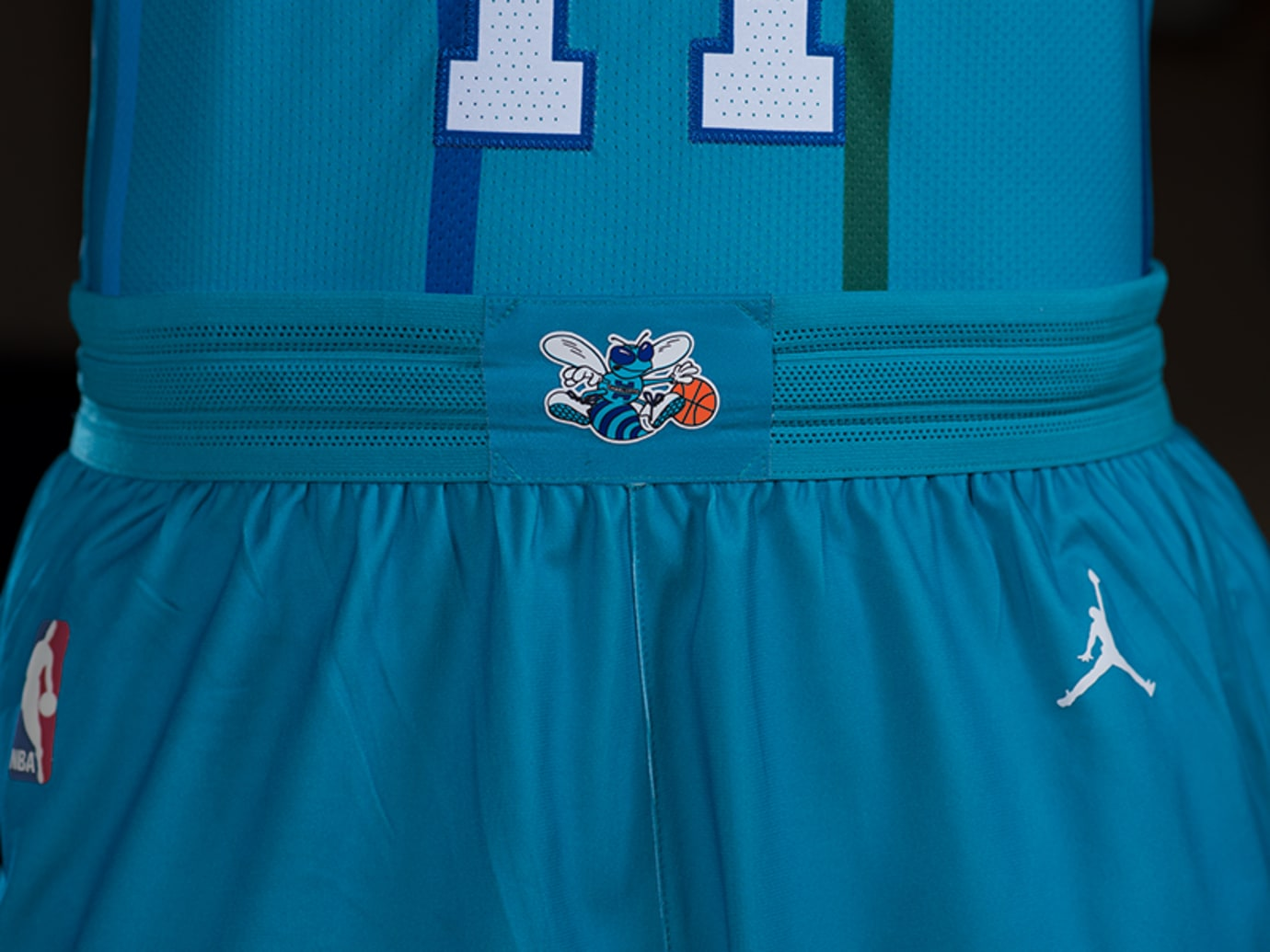 Charlotte Hornets Nike Classic Edition Throwback Jersey 4