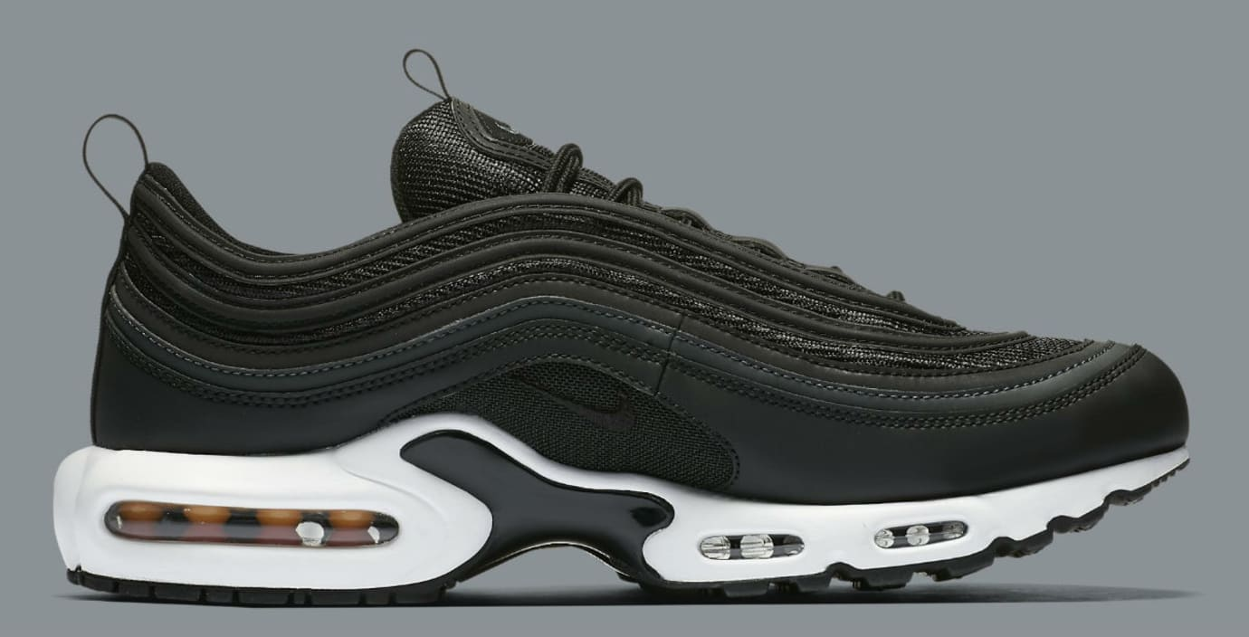 Nike Air Max Plus 97 Black White Release Date Medial AH8143-001