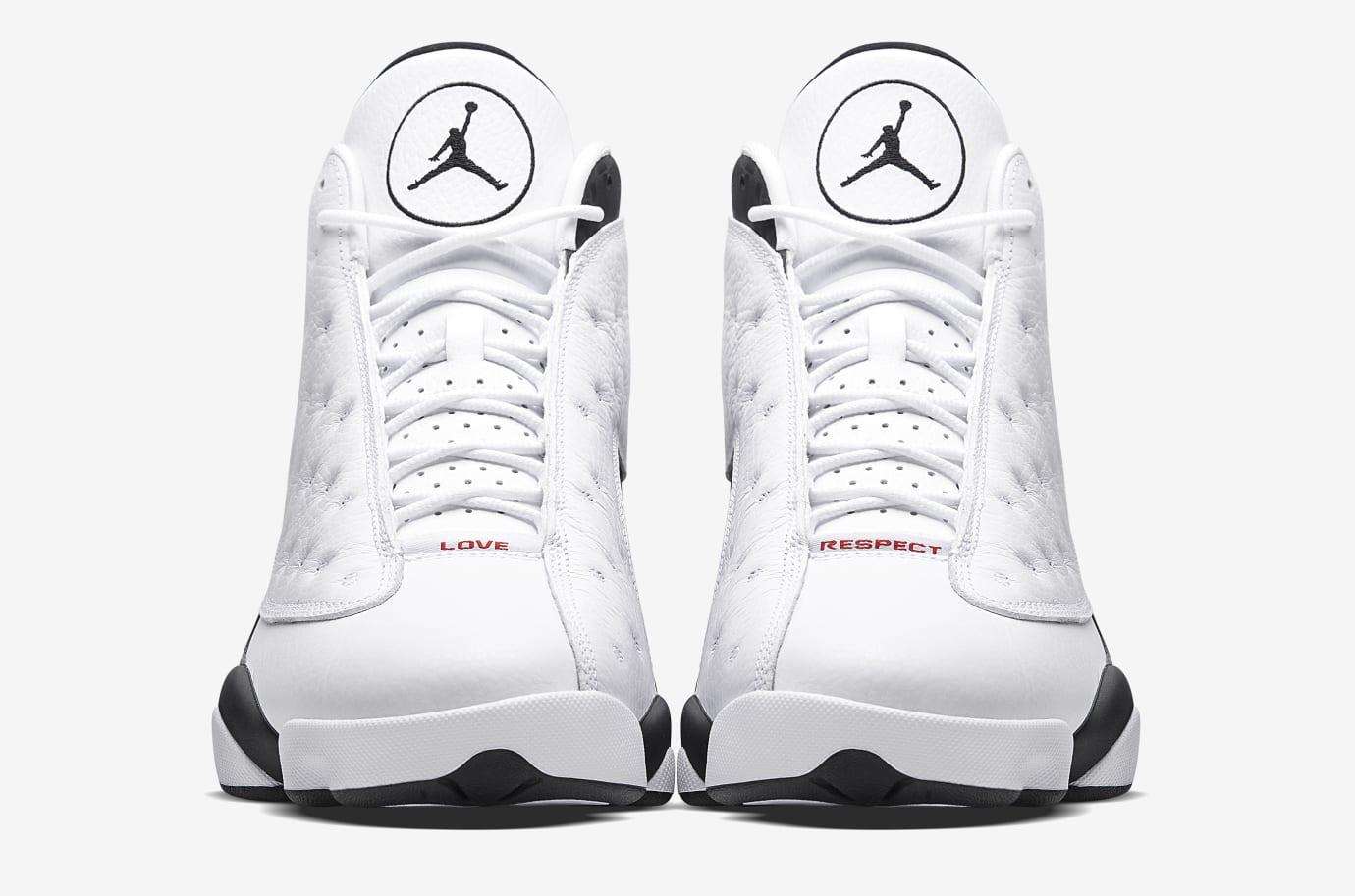 Air Jordan 13 Love Respect White Front