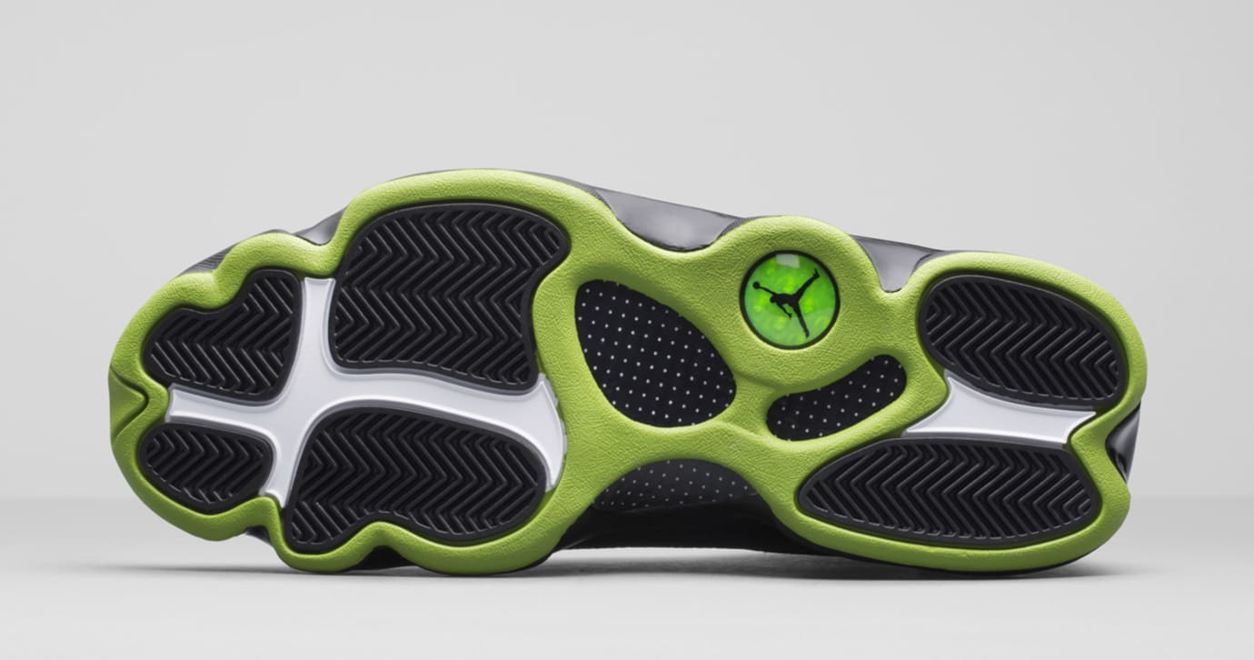 new styles 3642e a9b20 Image via Nike News · Air Jordan 13 Altitude Outsole 414571-042