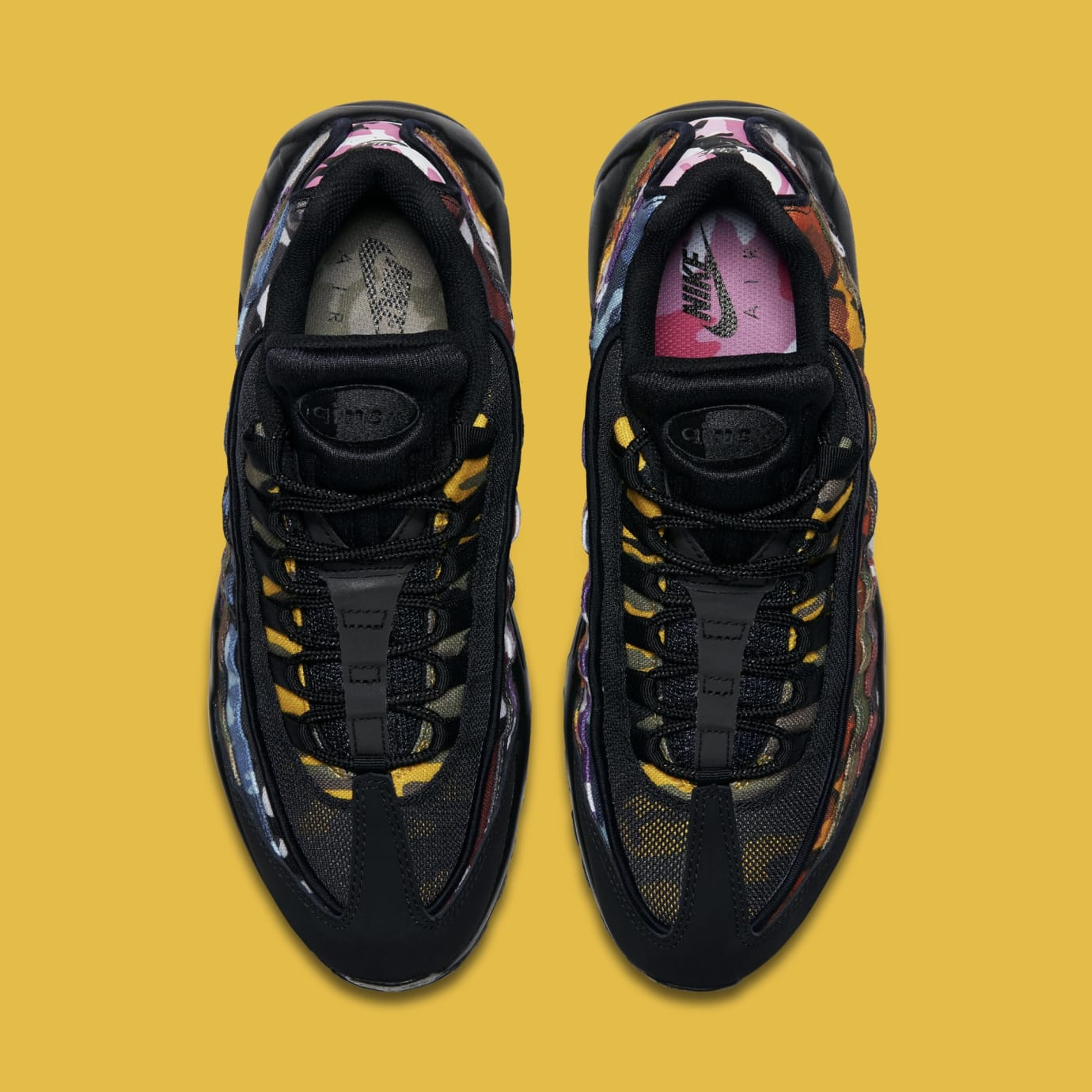 "Men's Nike Air Max 95 ""ERDL Party Camo"" Black AR4473 001"
