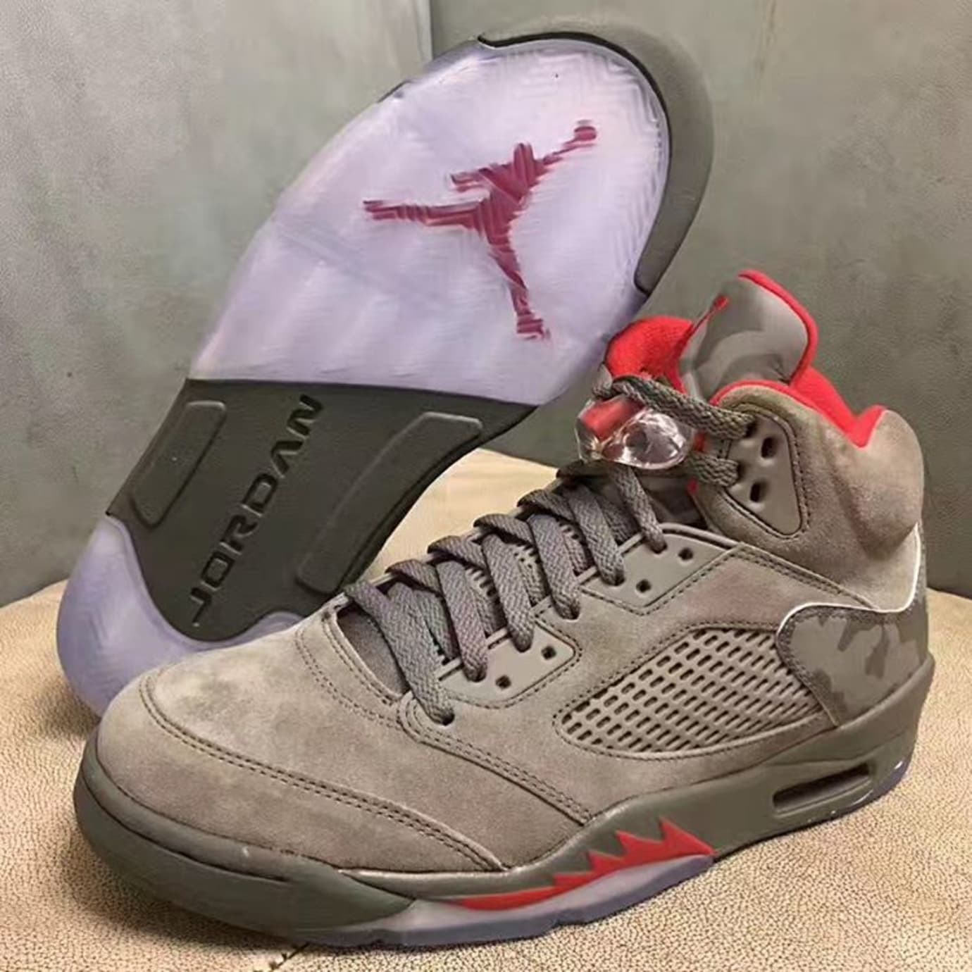 new style 577b0 50339 Air Jordan 5 Camo 2017 Release Date   Sole Collector
