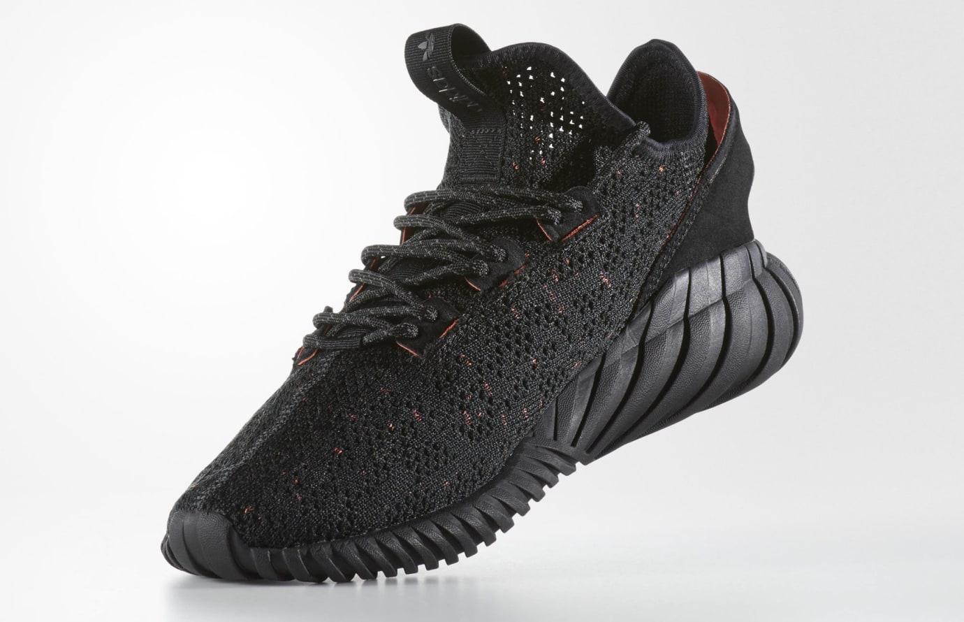 Image via Adidas Triple Black Adidas Tubular Doom Soc BY3559 Medial ff350fea4946