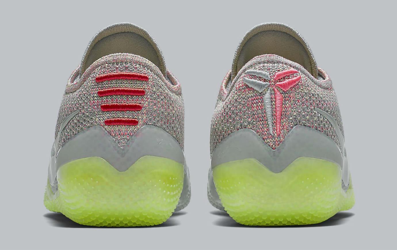 Nike Kobe A.D. NXT 360 Grey Multicolor Release Date AQ1087-003 Heel
