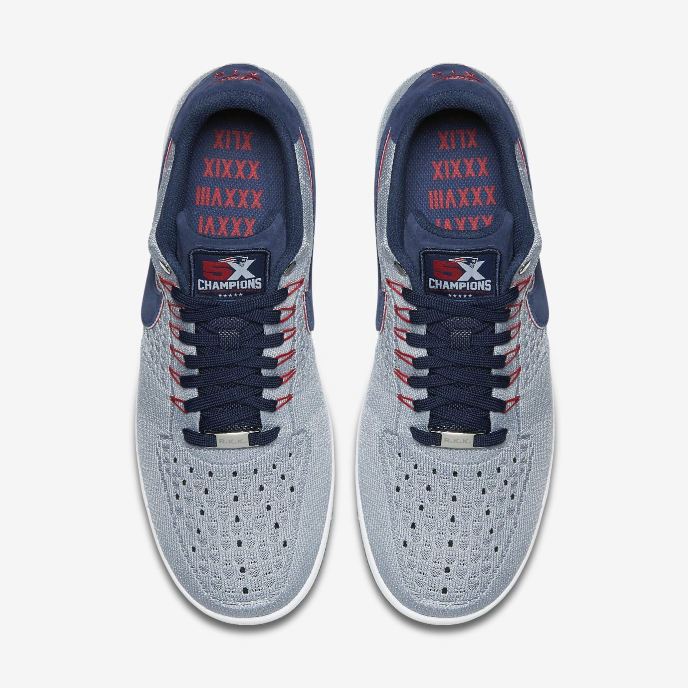 Nike Air Force 1 Ultra Flyknit RKK Patriots AH8425-001 (Top)