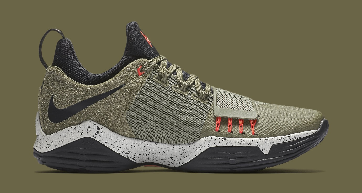 Nike PG1 Elements 911085-200 Cargo Khaki Medial
