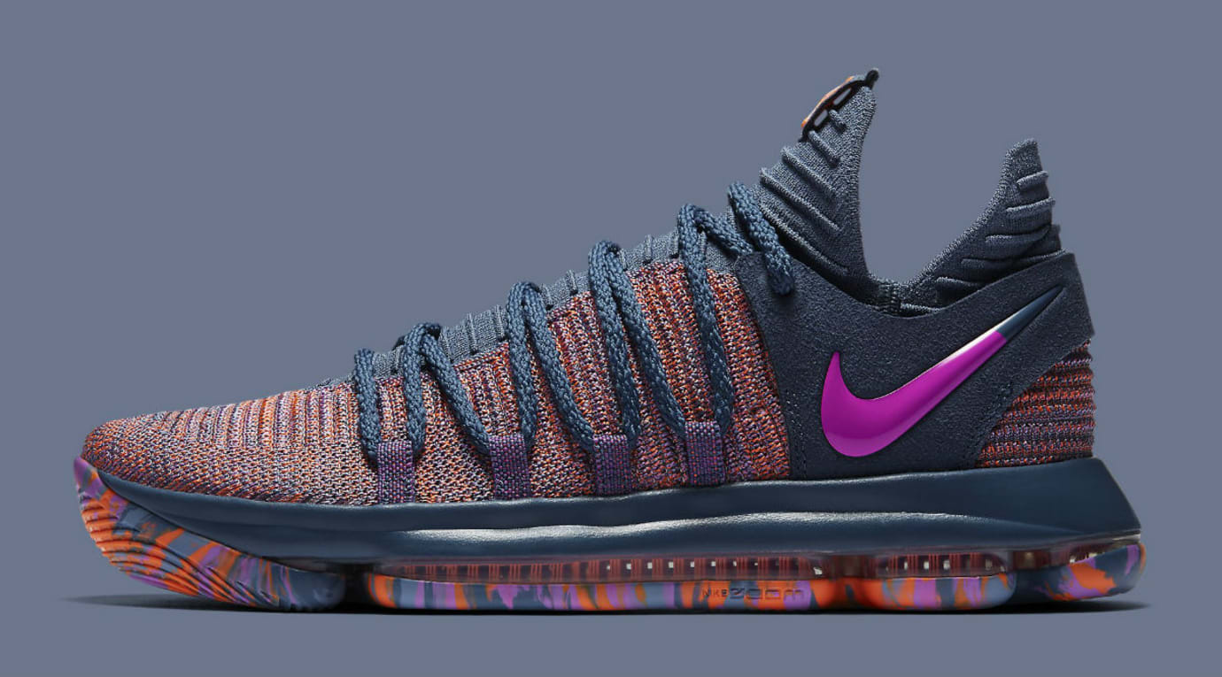Nike KD 10 All-Star Release Date 897817-400 Profile