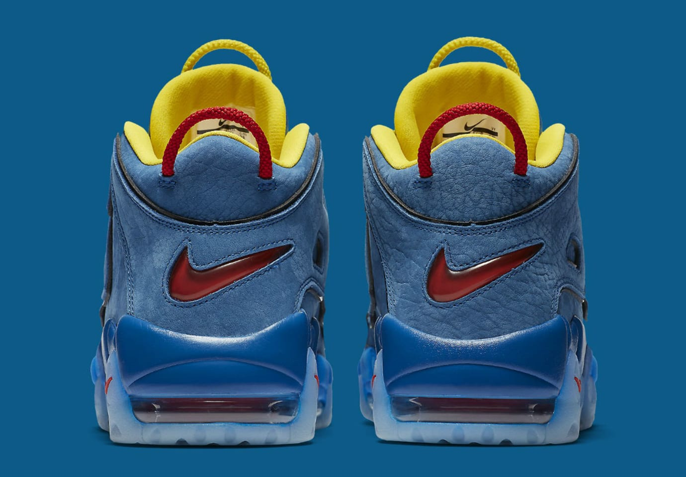 Nike Air More Uptempo Doernbecher Release Date AH6949-446 Heel