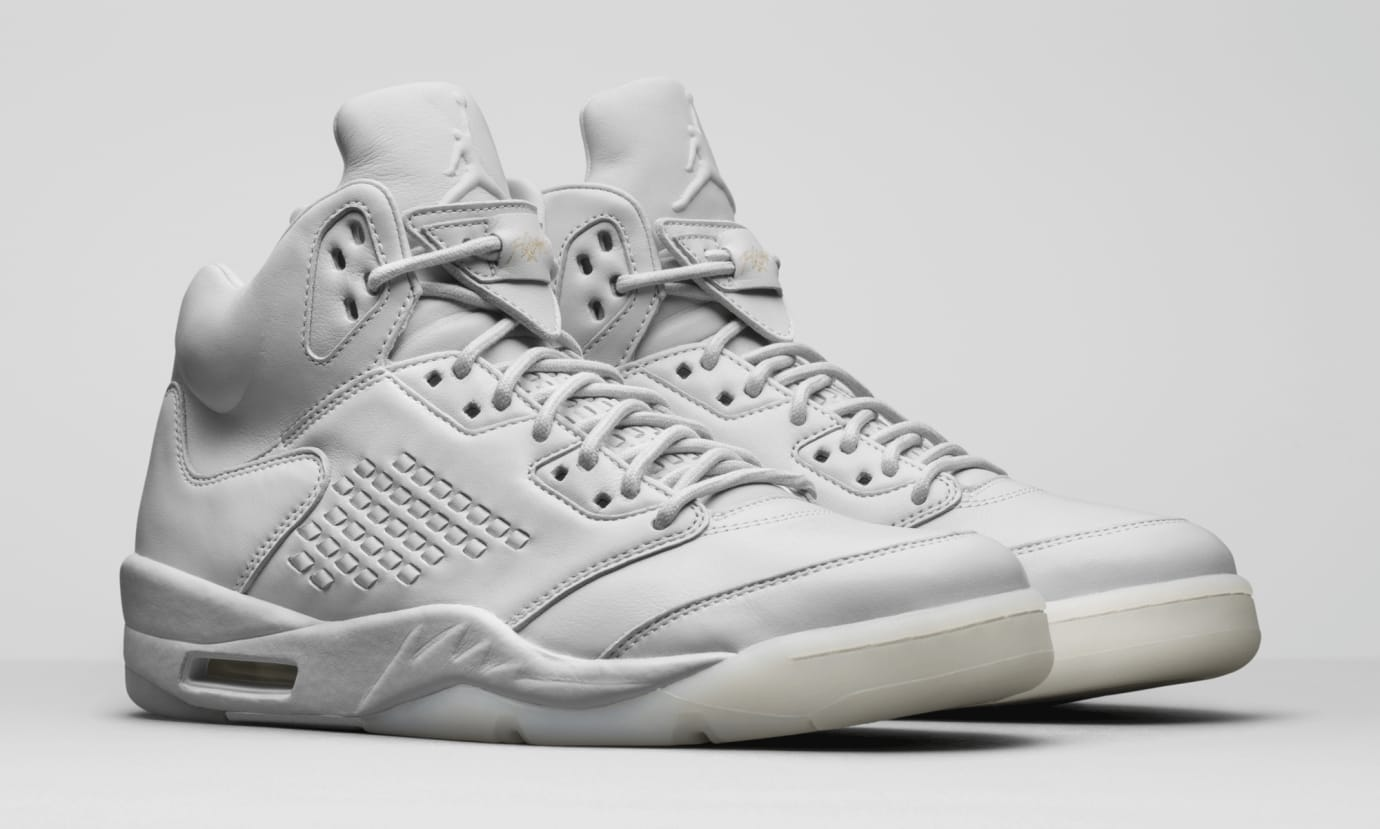Air Jordan 5 Triple White 881432-003