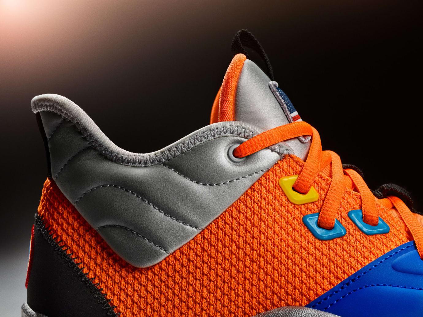 Nike PG 3 NASA Release Date CI2666-800 Collar