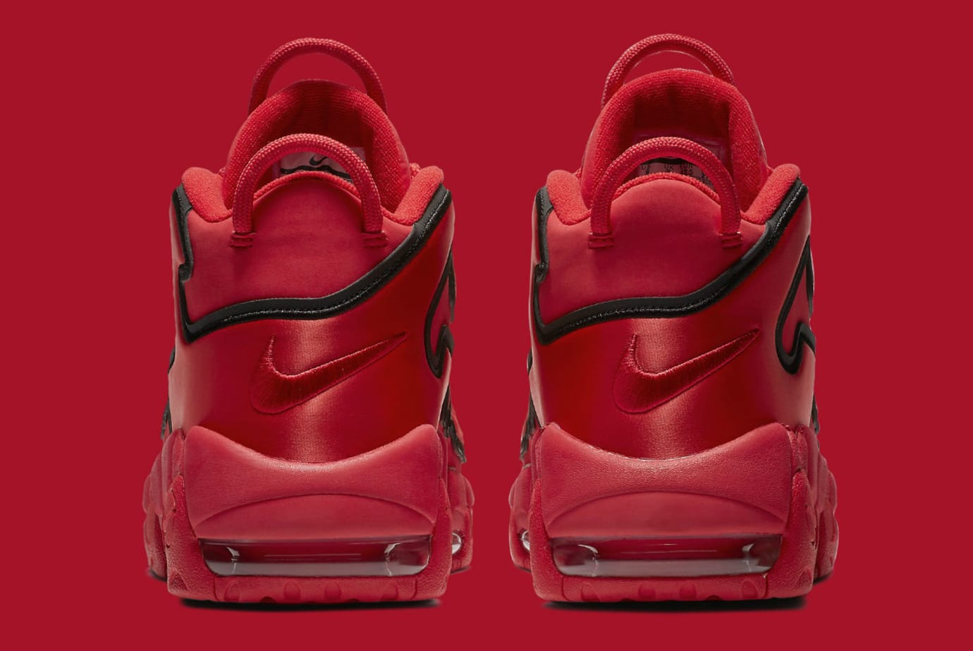 Nike Air More Uptempo QS Chicago Red Release Date Heel AJ3138_600