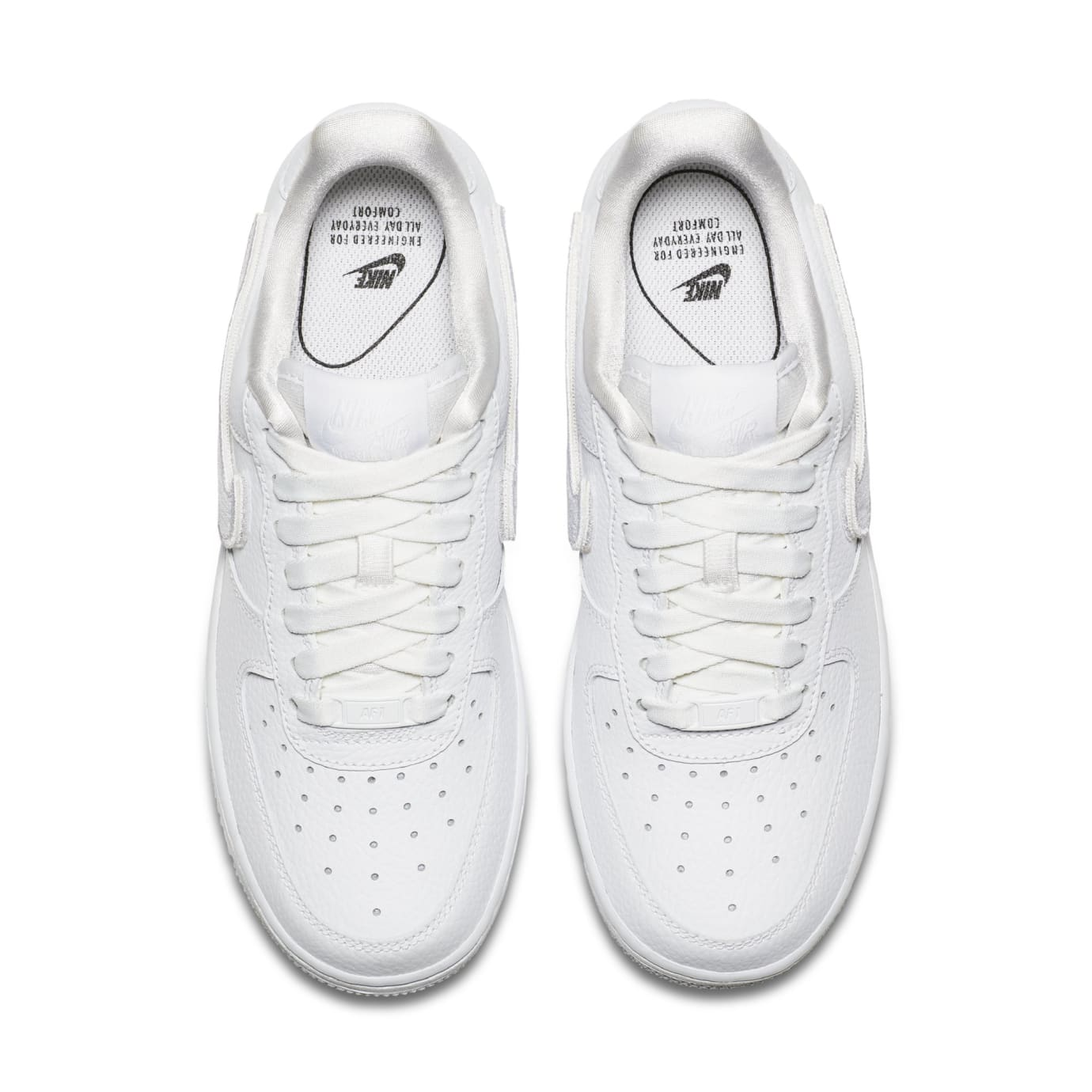 buy popular 57383 ff72a Image via Nike WMNS Nike Air Force 1-100 AQ3621-111 (Top)