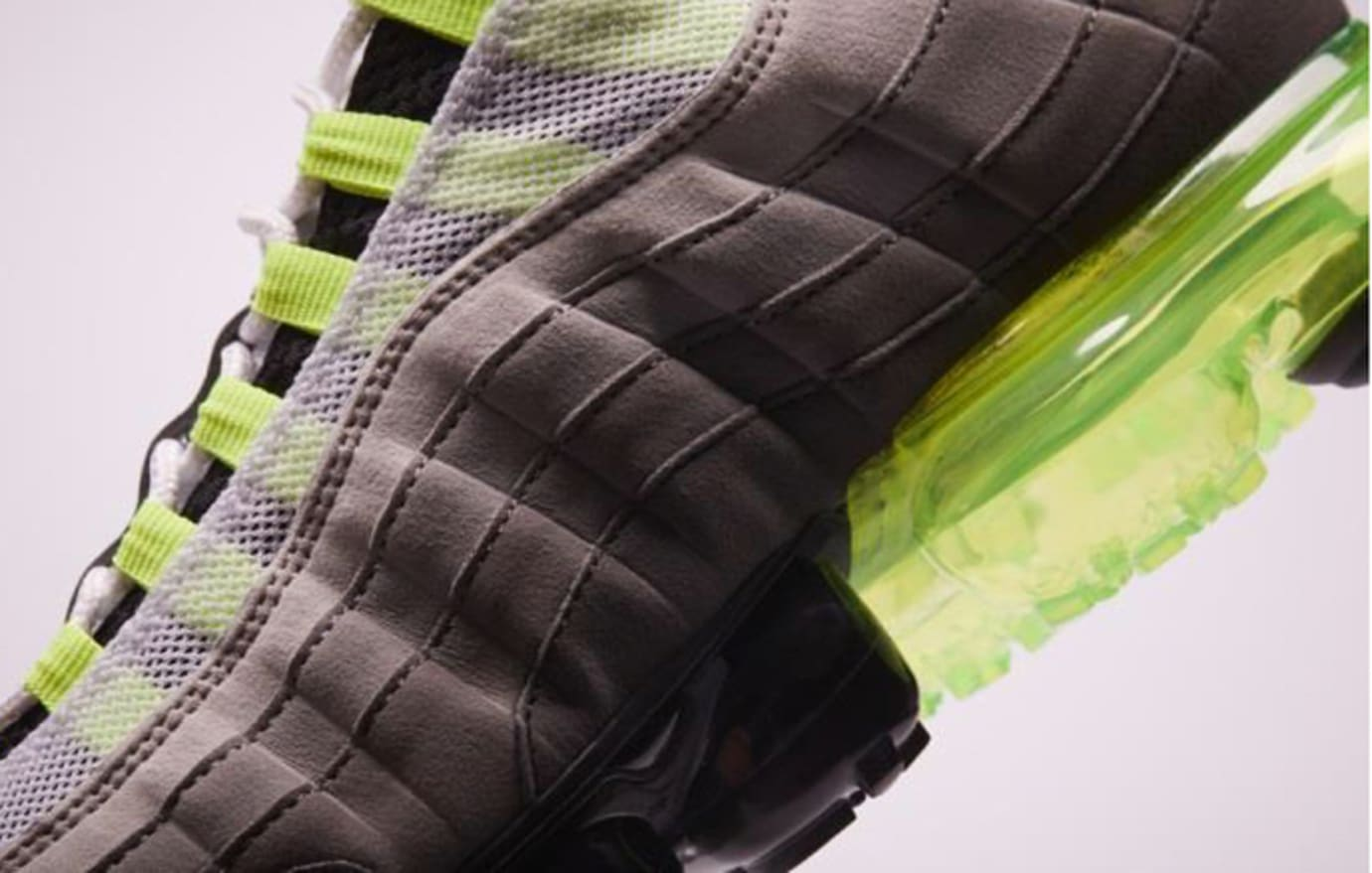 premium selection c2ded a1279 Nike VaporMax 95 Neon Release Date | Sole Collector