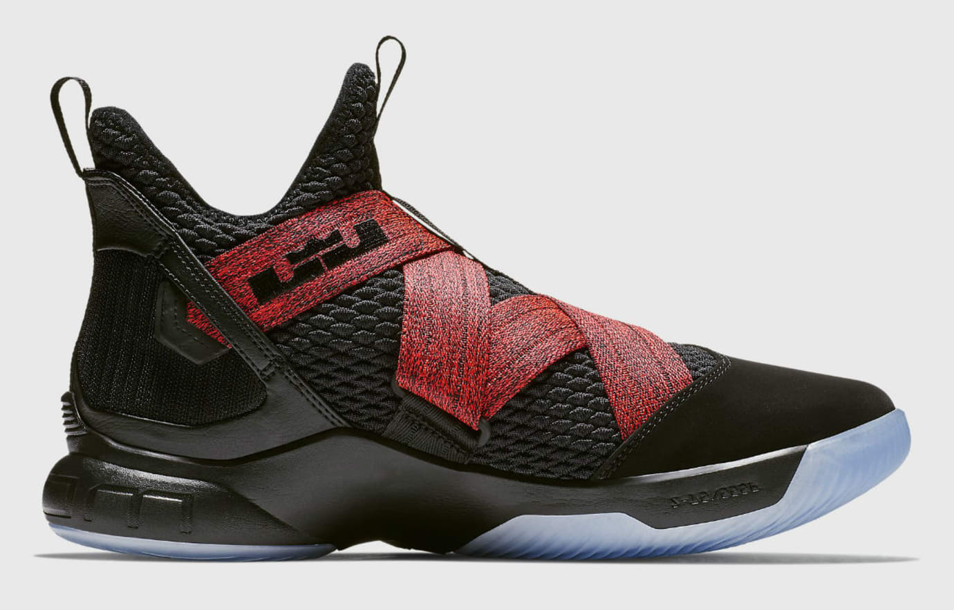 798206dc746 Image via Nike Nike LeBron Soldier 12 XII Bred Release Date AO2609-003  Medial