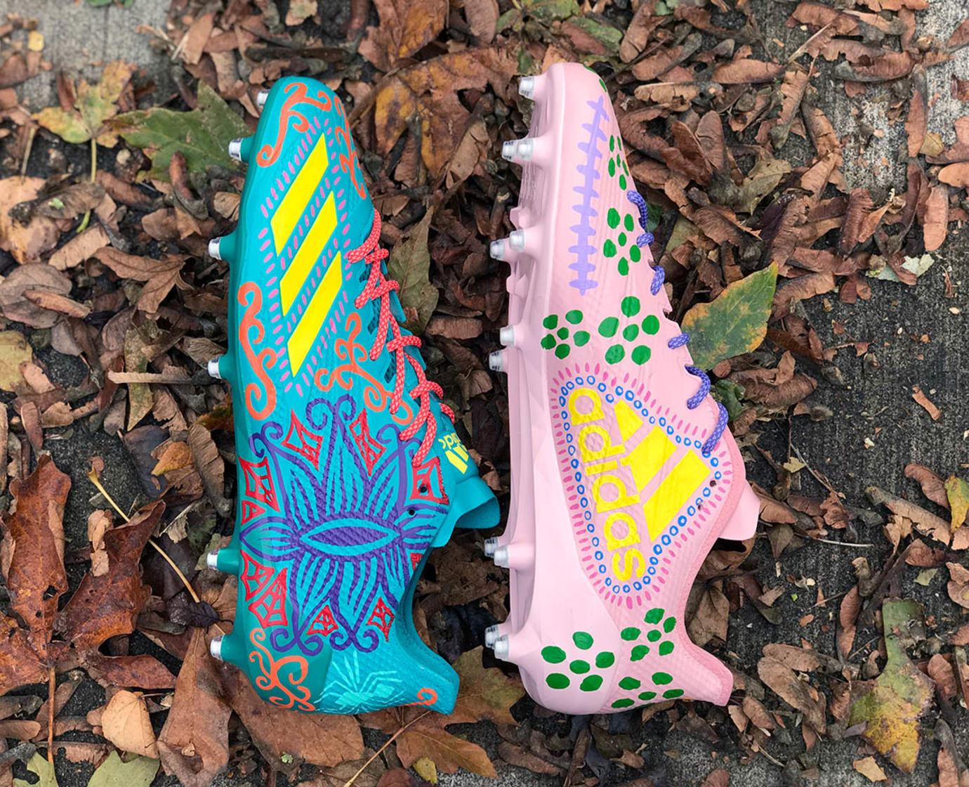 Adidas Adizero DeAndre Hopkins Halloween Cleats Side