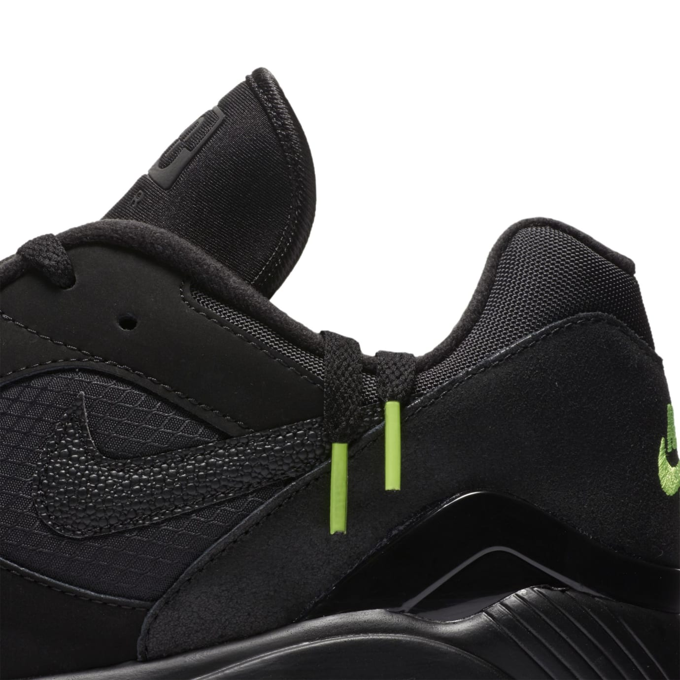 Nike Air Max 180 'Black/Black-Volt' (Detail)