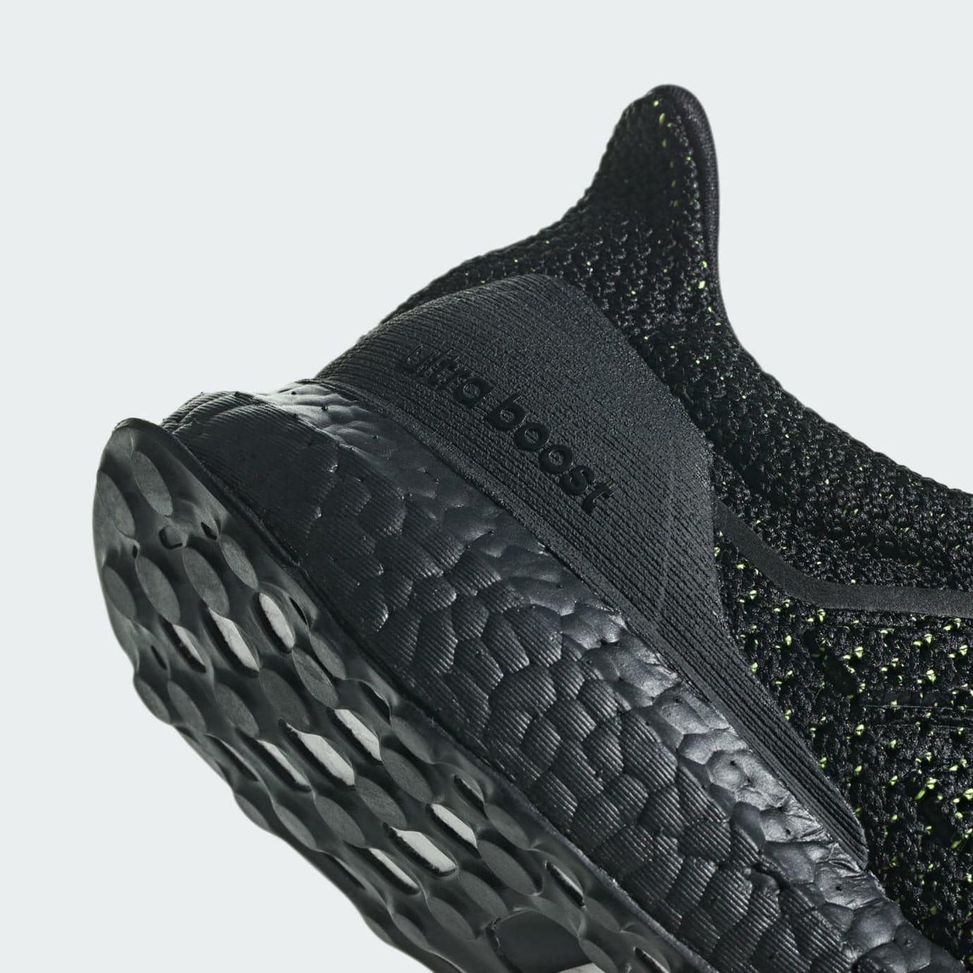a6f996b80c0 Image via Adidas Adidas Ultra Boost Clima Black Solar Red Release Date  AQ0482 Heel