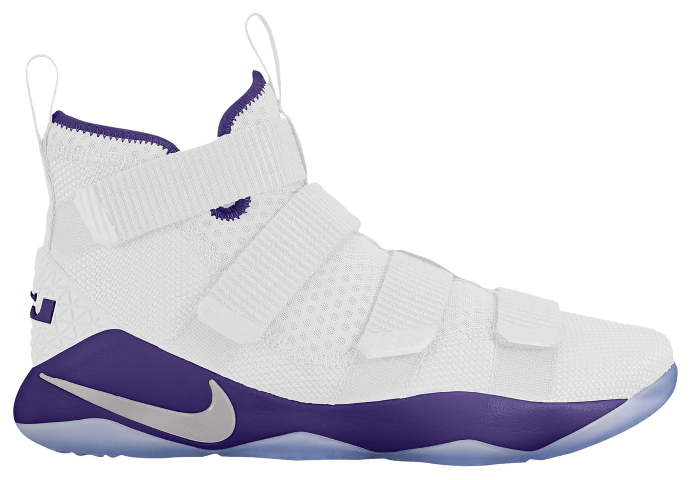 Nike LeBron Soldier 11 TB White Purple