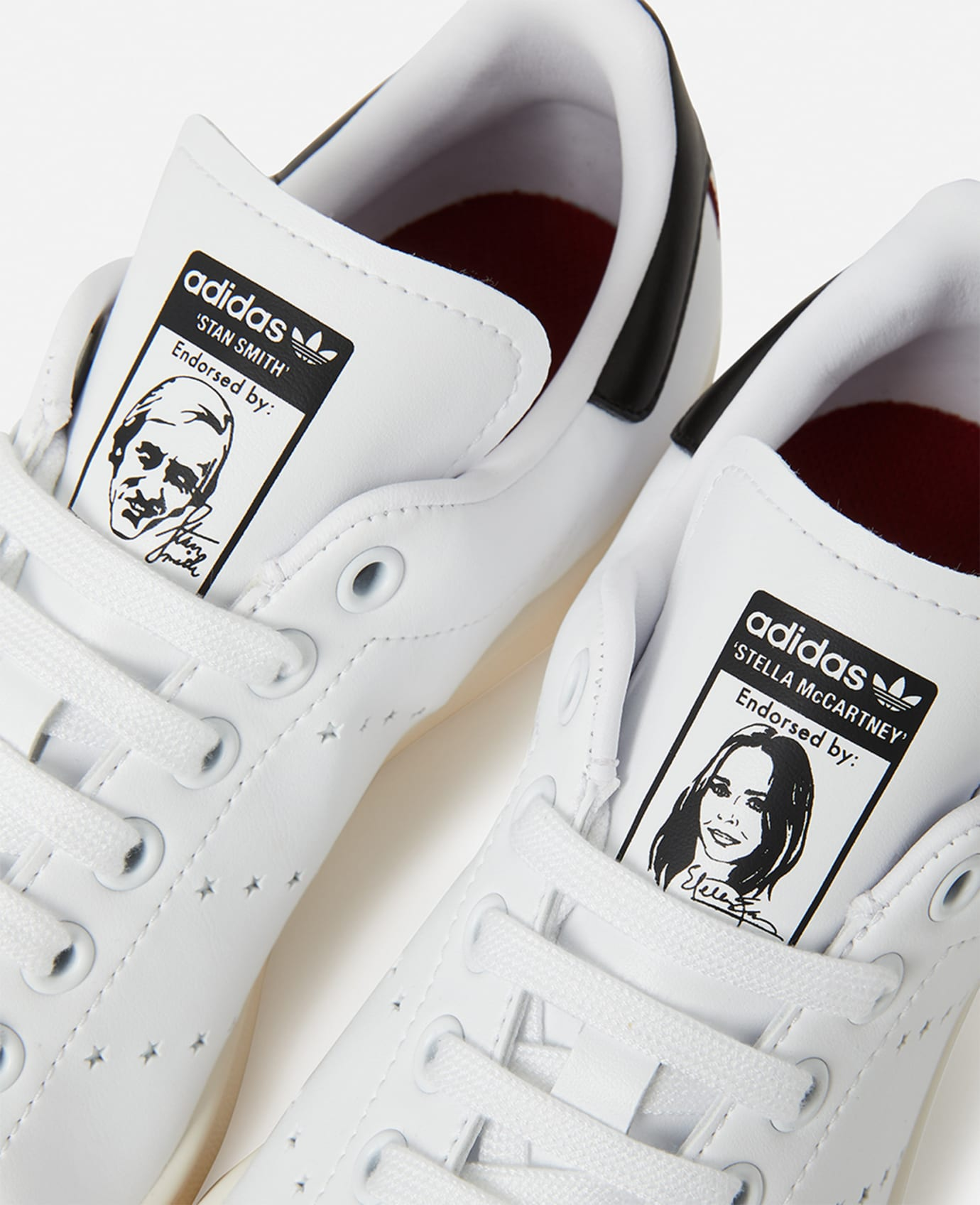 Stella McCartney x Adidas Stan Smith (Tongue 2)