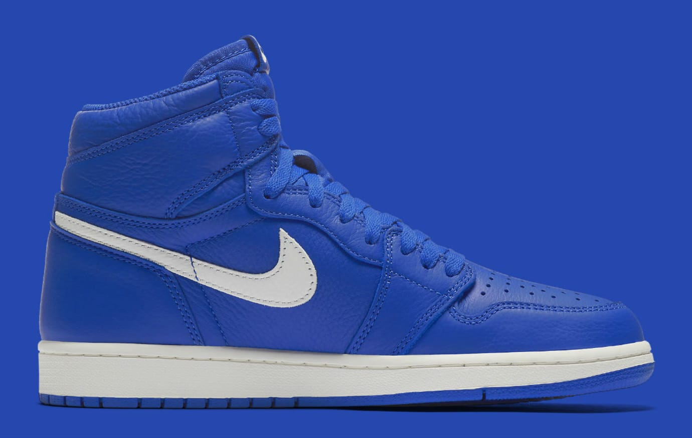 70fec61bf4057a Image via Nike Air Jordan 1 He Got Game Hyper Royal Release Date 555088-401  Medial