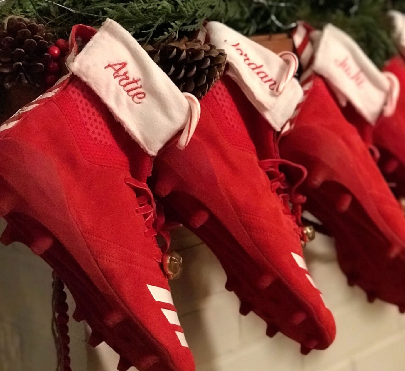 Adidas Football Christmas Stocking Cleats (4)