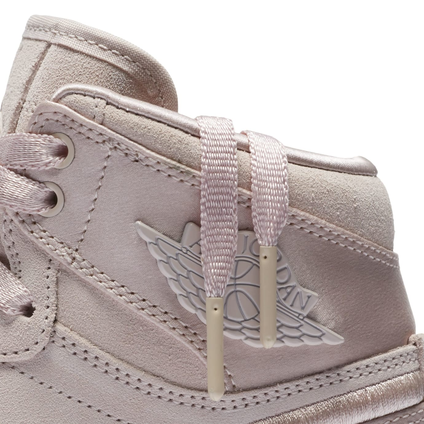 Air Jordan 1 Summer of High 'Silt Red' Silt Red/White-Metallic Gold (Detail)