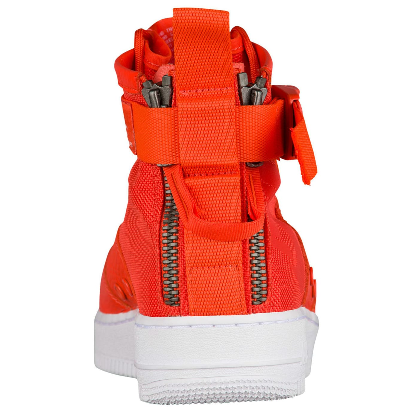 Nike SF Air Force 1 Mid Team Orange Release Date Heel 917753-800