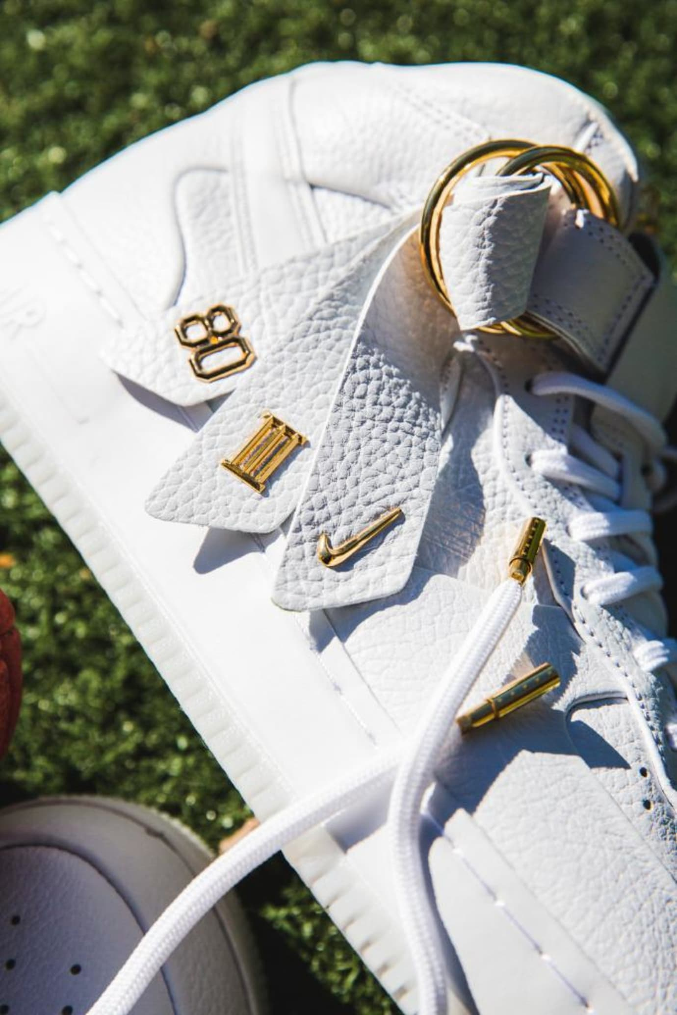Victor Cruz x Nike Air Force 1 Mid CMFT QS (Strap Detail)