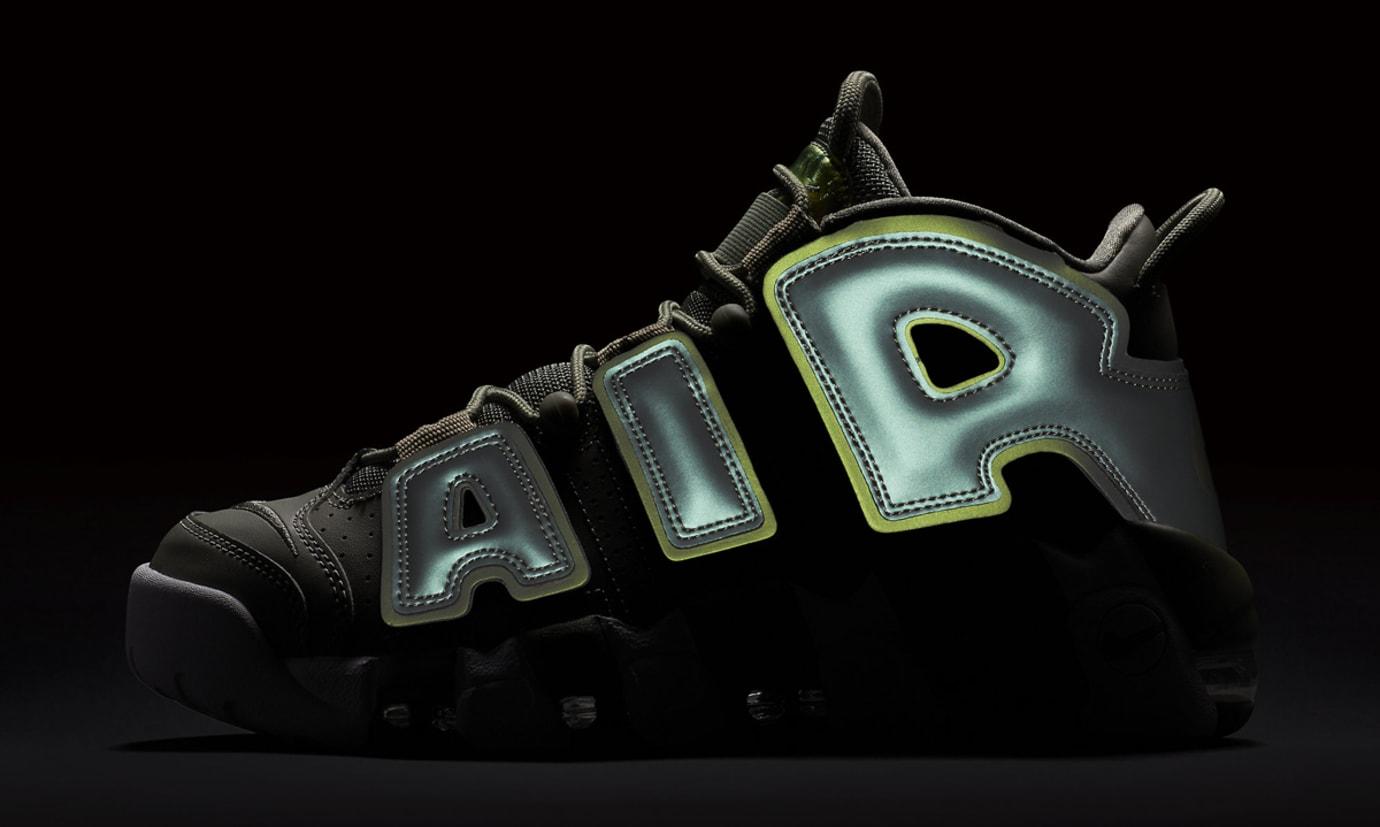 Image via Nike Nike Air More Uptempo Womens Dark Stucco 917593-001  Reflective 921ca4992