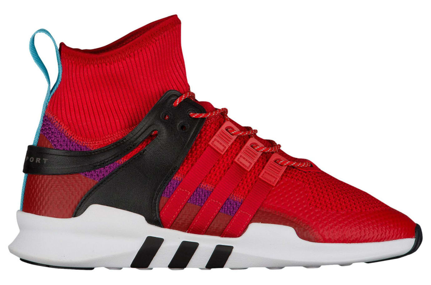 Adidas EQT Support ADV Winter Scarlet Shock Purple Release Date Profile