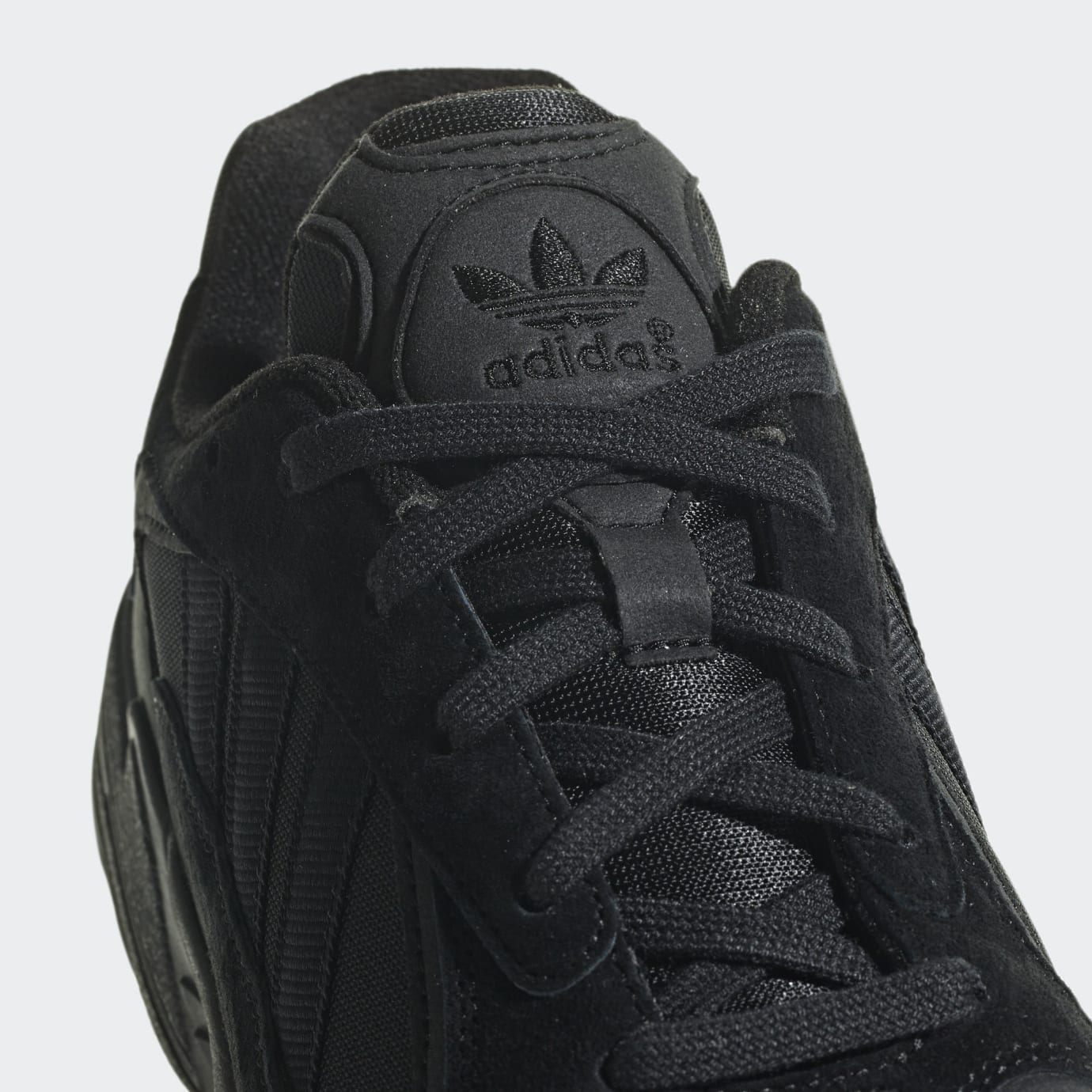 Adidas Yung-1 Triple Black Release Date G27026 Tongue