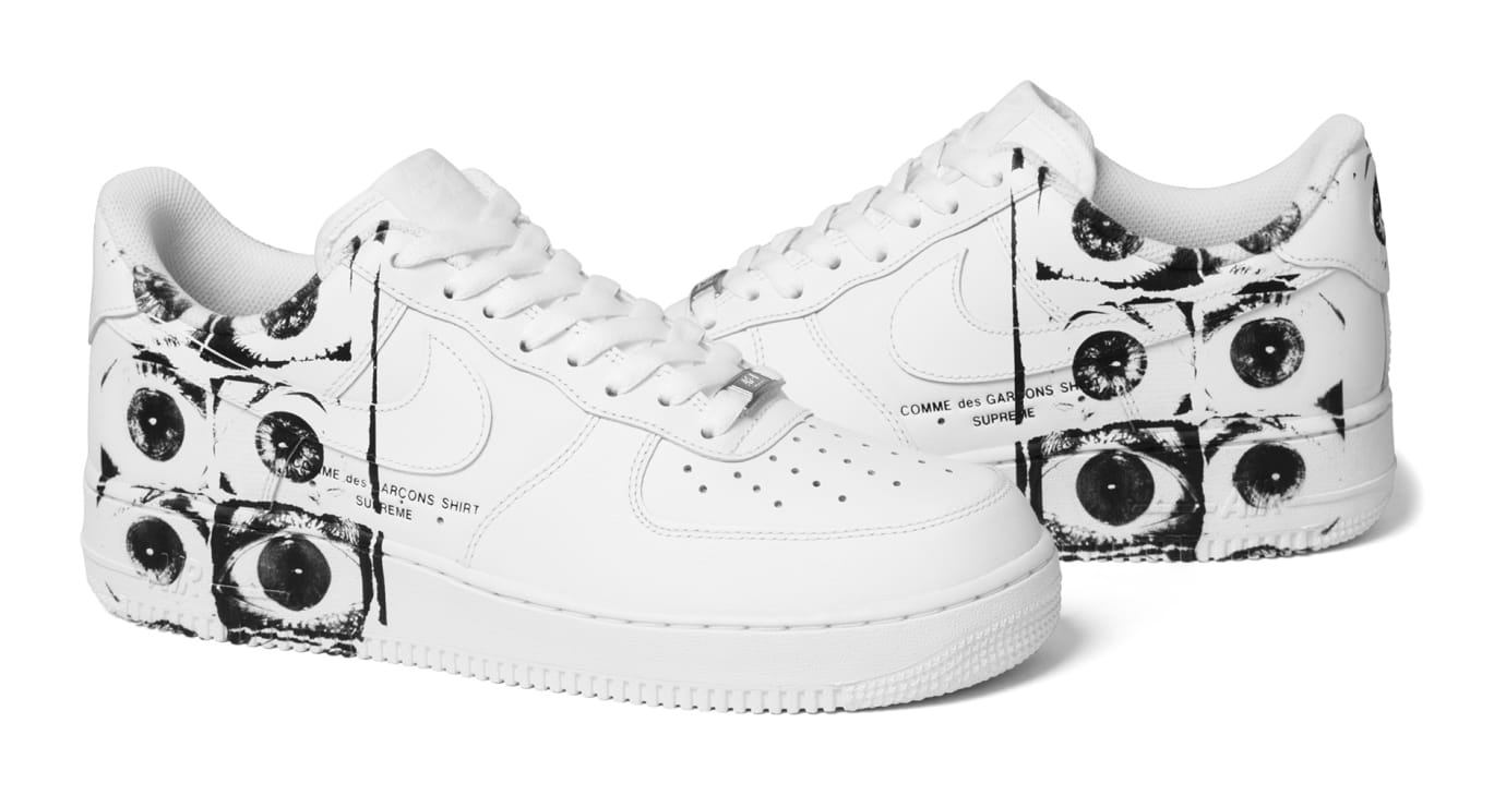 Supreme CDG Nike Air Force 1 Low