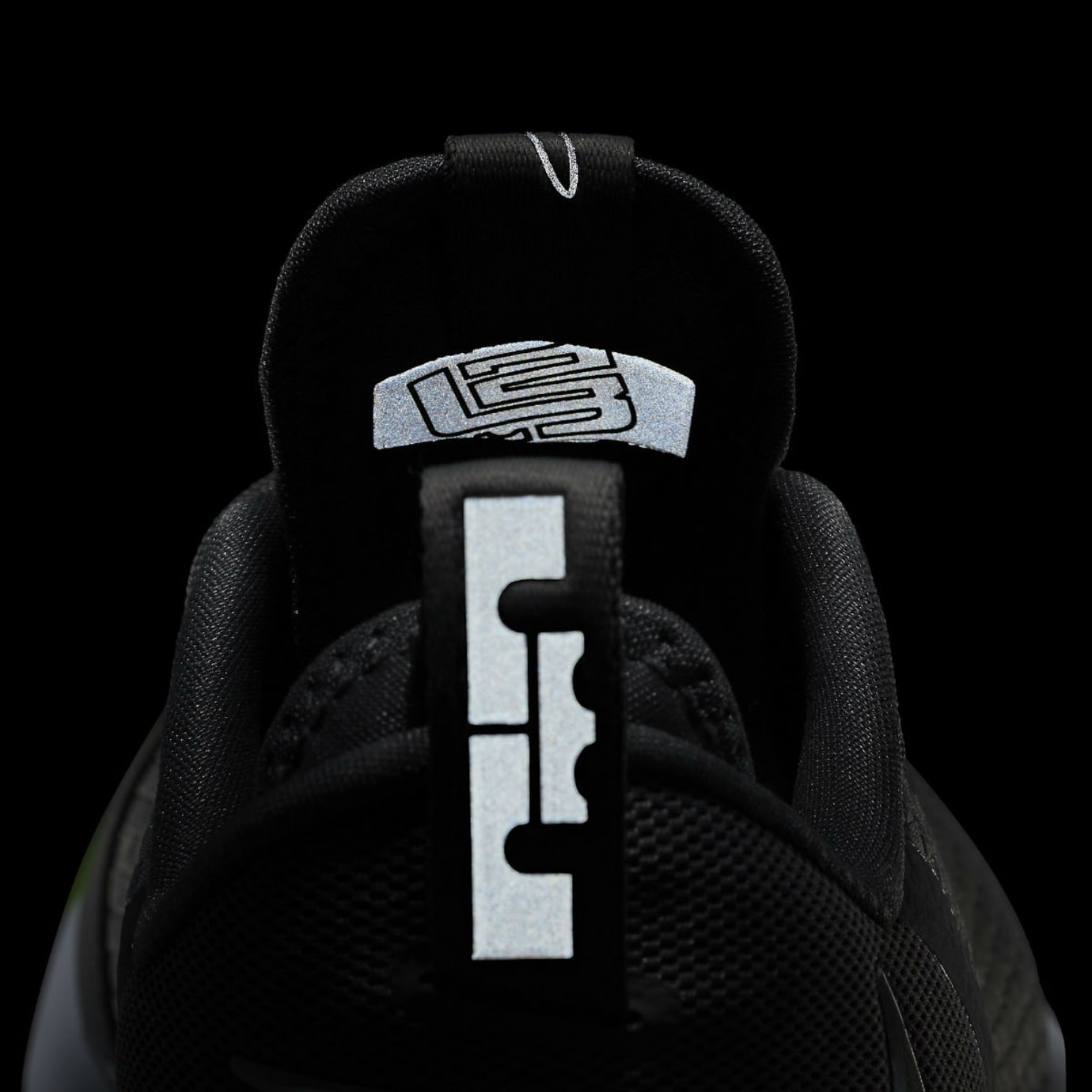 Nike LeBron 14 Low Dunkman Release Date Reflective Heel 878636-005