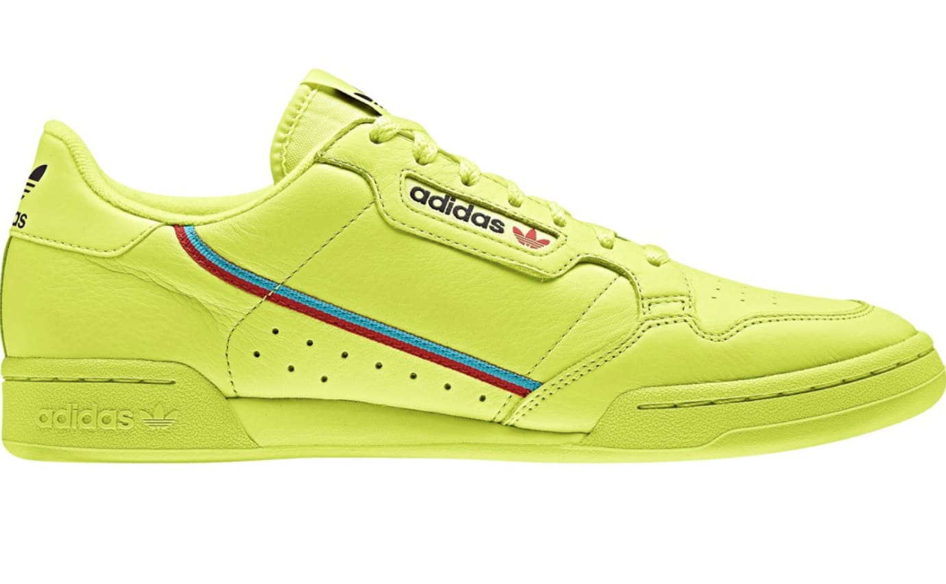 Adidas Rascal 'Semi Frozen Yellow' (Lateral)