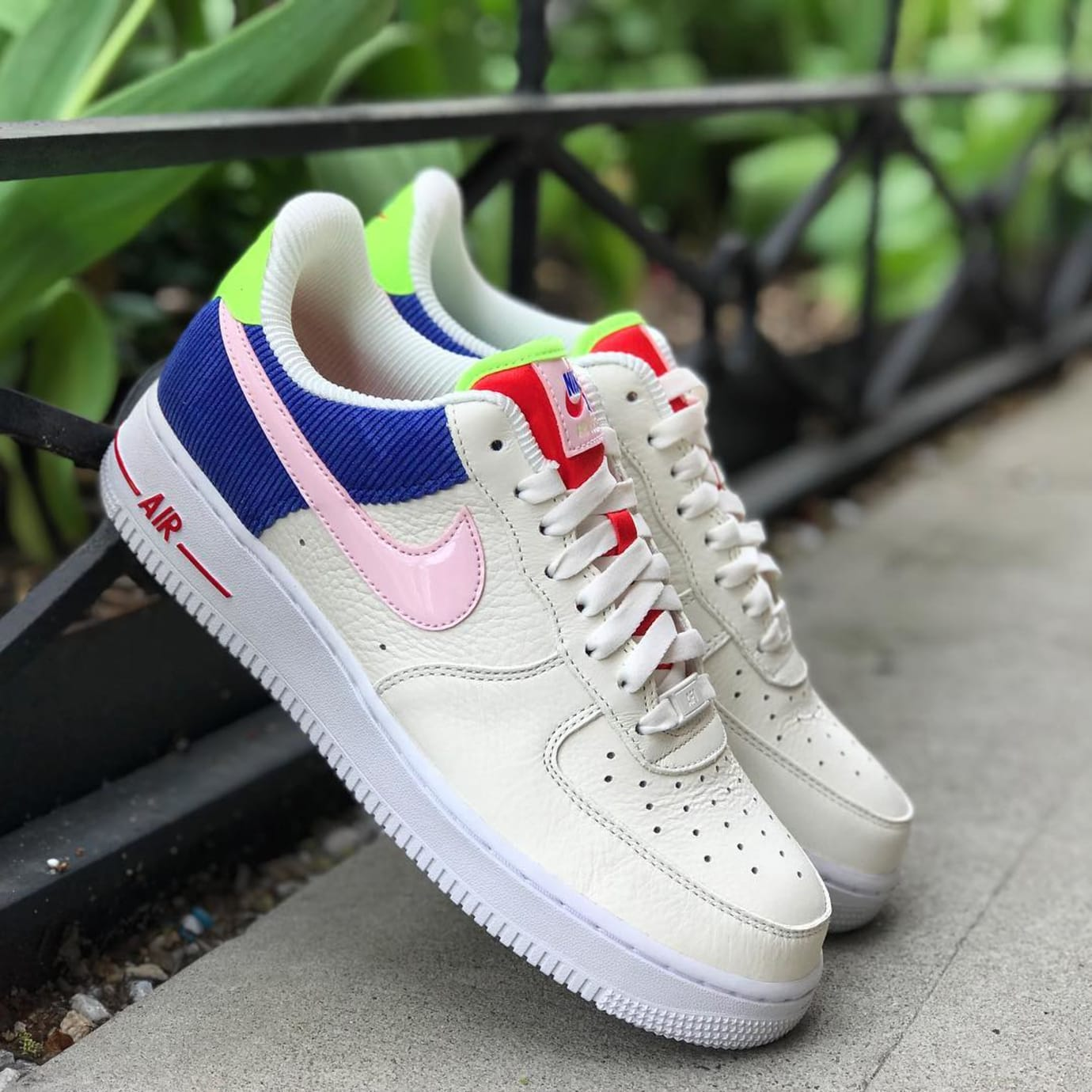 4b18319243e4 Image via Atmos Nike Air Force 1 Low SE AQ4139-101  Panache  (Pair)