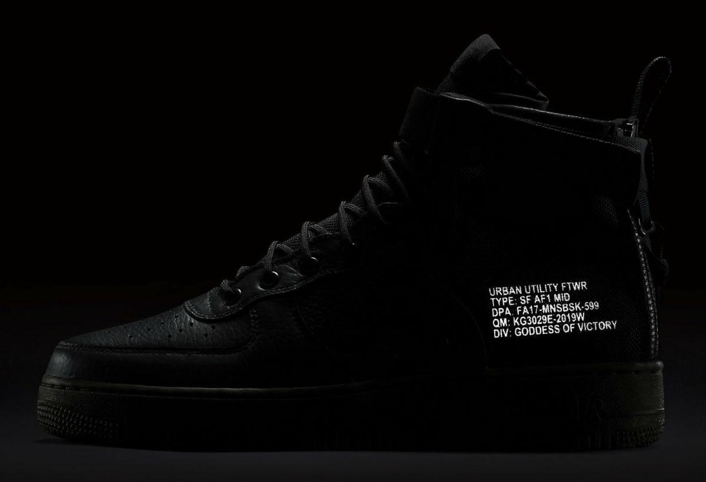 Nike SF Air Force 1 Mid Cargo Khaki Release Date 3M 917753-002