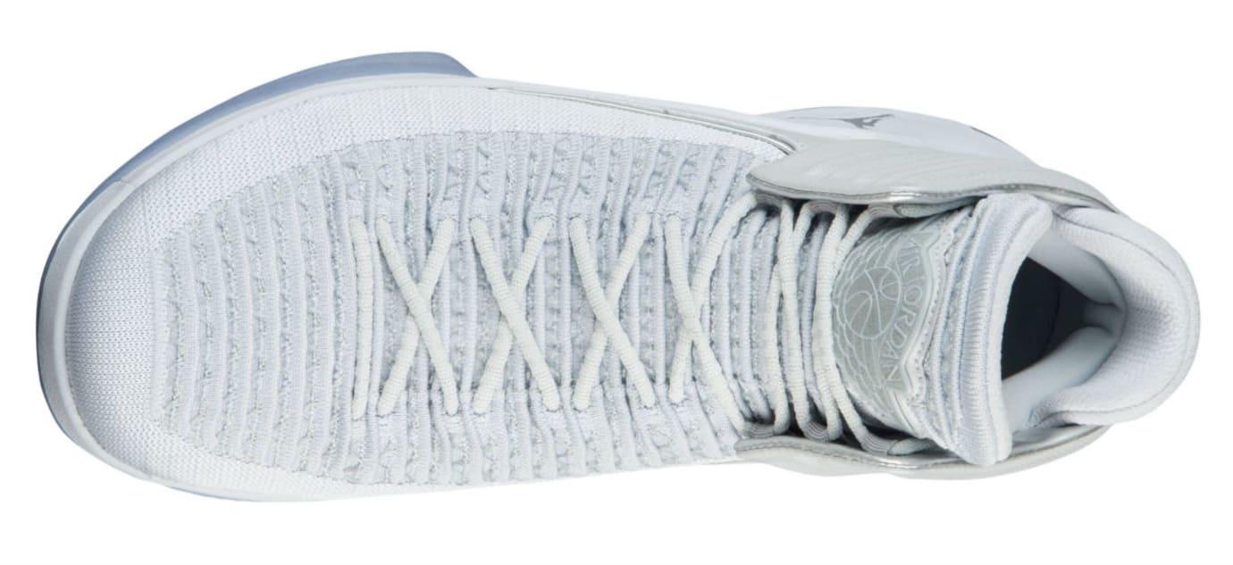 Air Jordan 32 Pure Platinum Release Date AA1253-007 Top