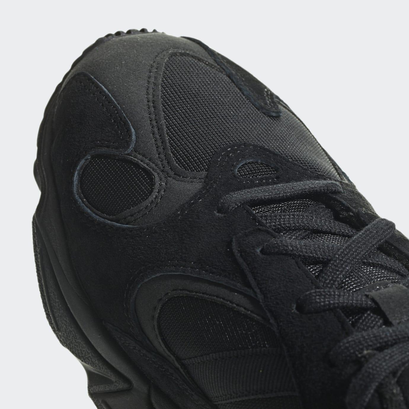 best cheap 67b5a 6f7f7 Image via Adidas Adidas Yung-1 Triple Black Release Date G27026