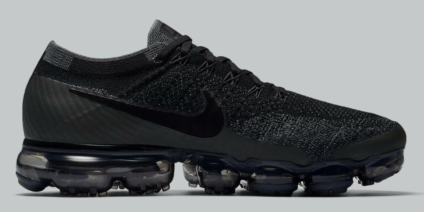 f4a5a21aca546 Nike Air VaporMax Triple Black Release Date Medial 849558-007