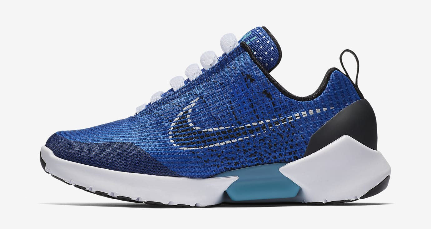 Sport Royal Nike HyperAdapt 843871-400 Profile