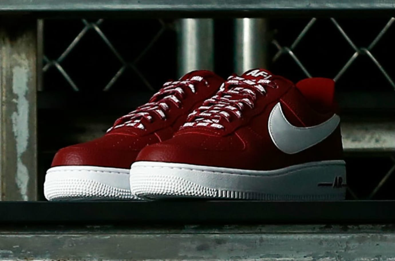 Nike Air Force 1 Low Statement Game NBA Logos Red