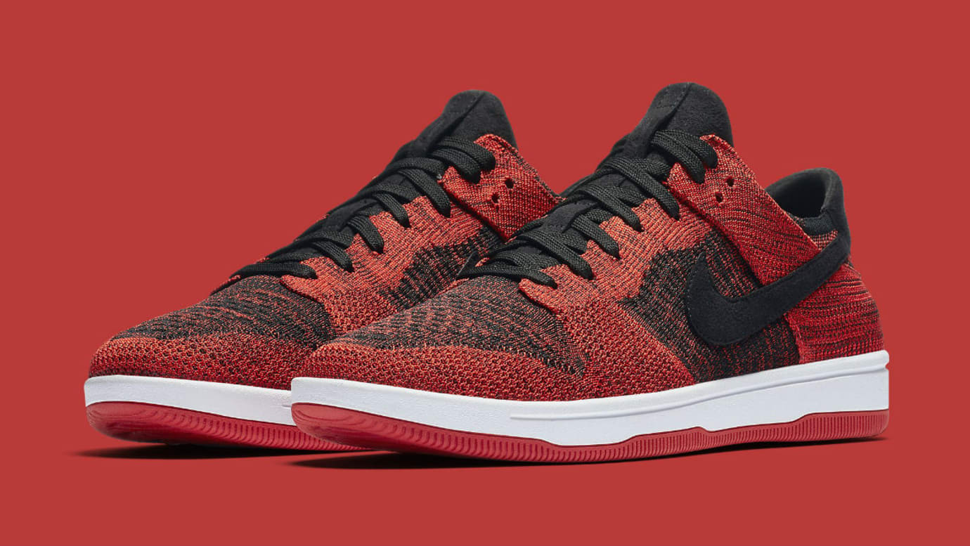 purchase cheap 26b87 5ae4d Nike Dunk Low Flyknit Oreo, Bred and Teal Colorways 2018 ...