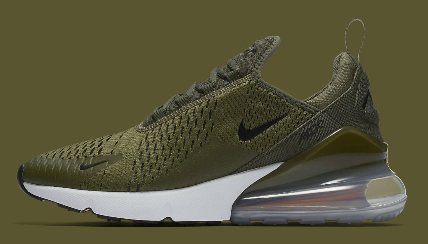 online store 230a4 be007 Nike Air Max 270 Olive Release Date AH8050-201 | Sole Collector