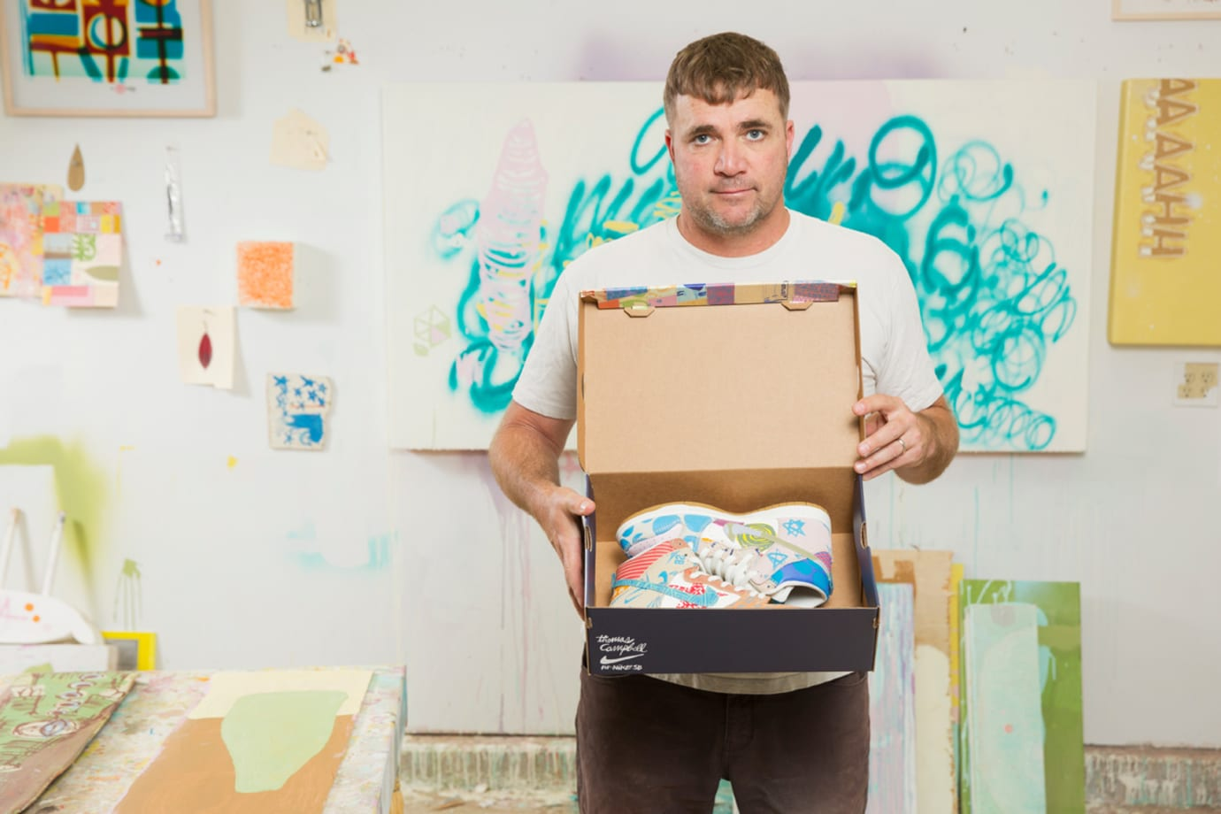 Thomas Campbell x Nike SB Dunk High Custom Packaging Limited (9)