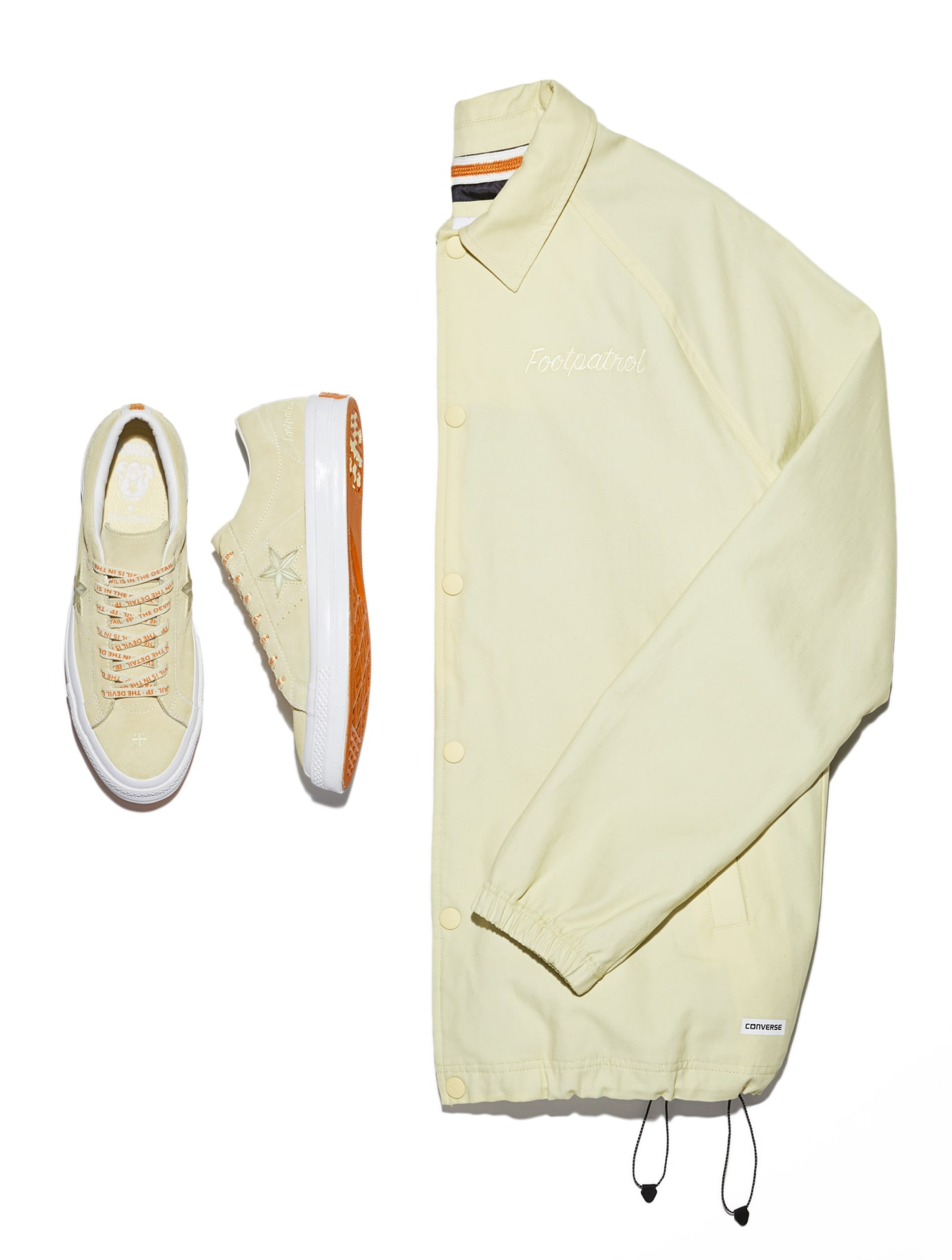 Converse One Star x Footpatrol (Pair/Jacket)